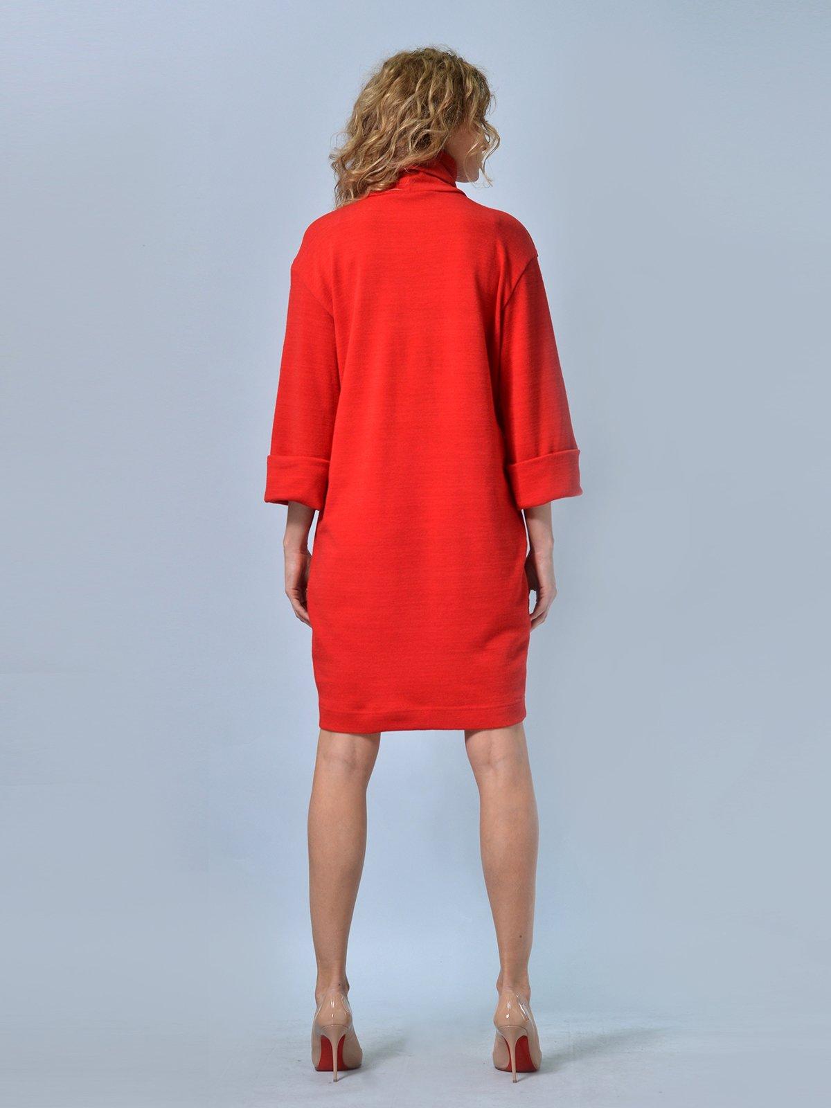 Платье красное | 2678961 | фото 5