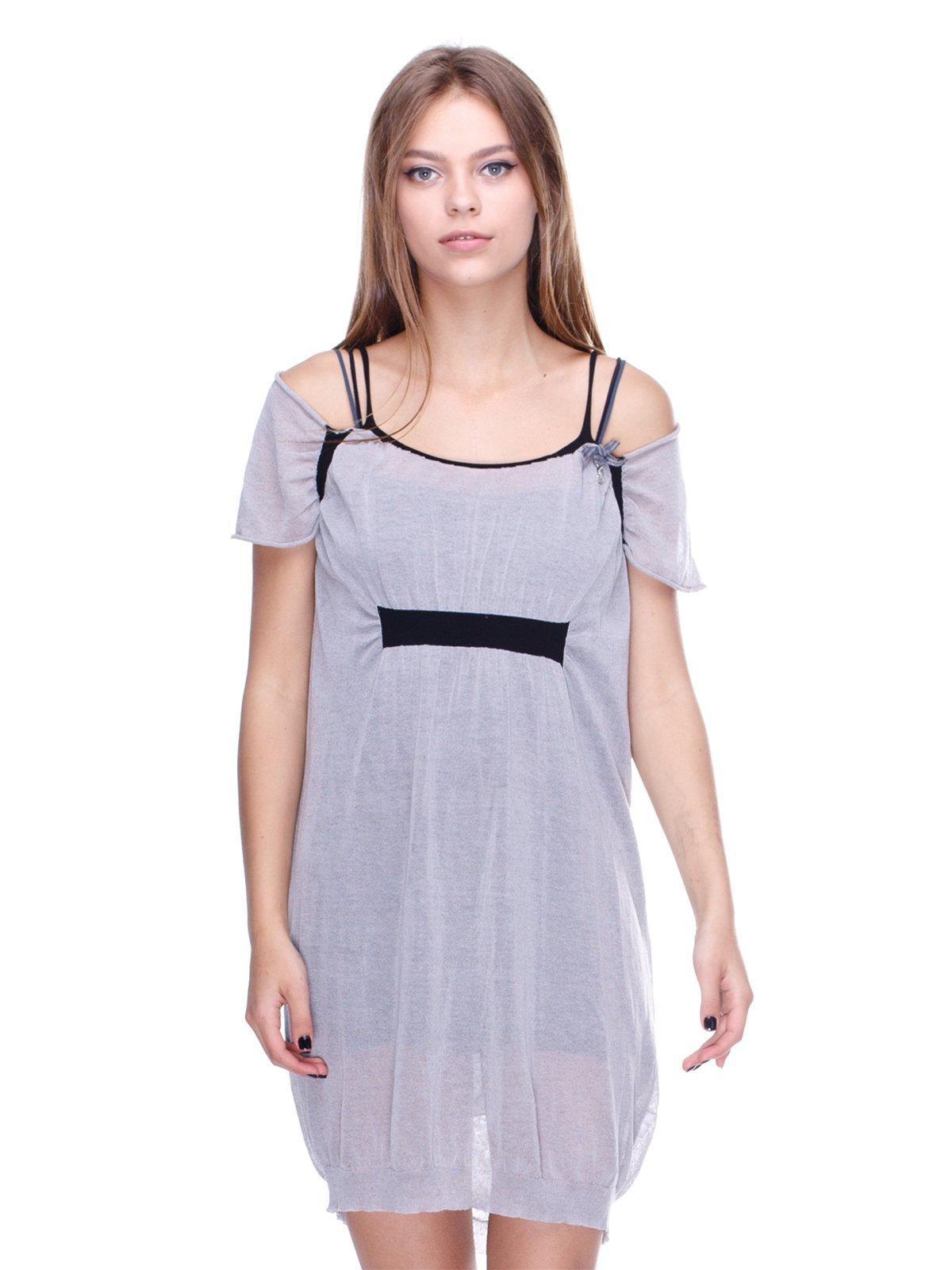 Платье серое | 2660031