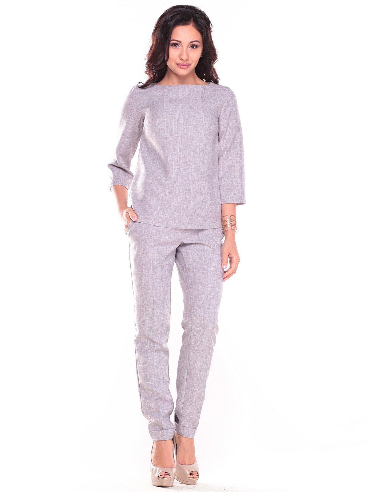 Костюм: блуза и брюки   2679862