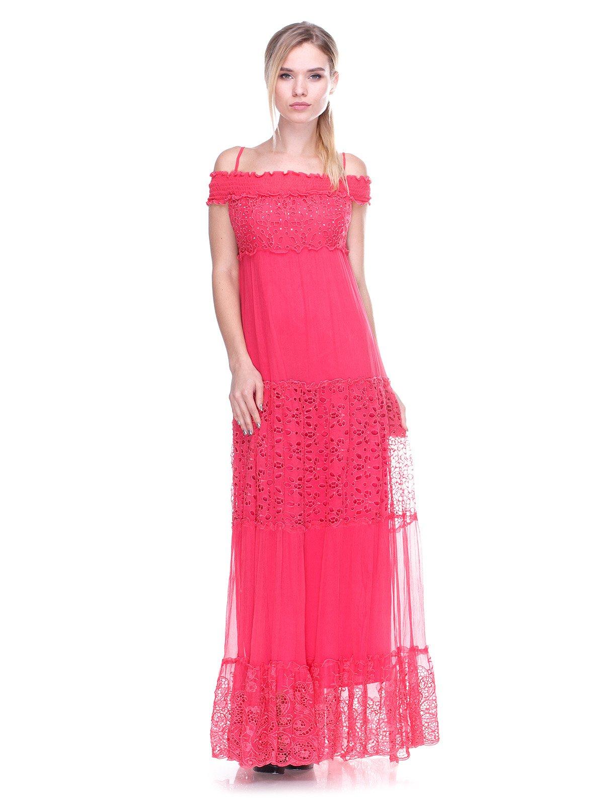 Сукня коралова | 2590972