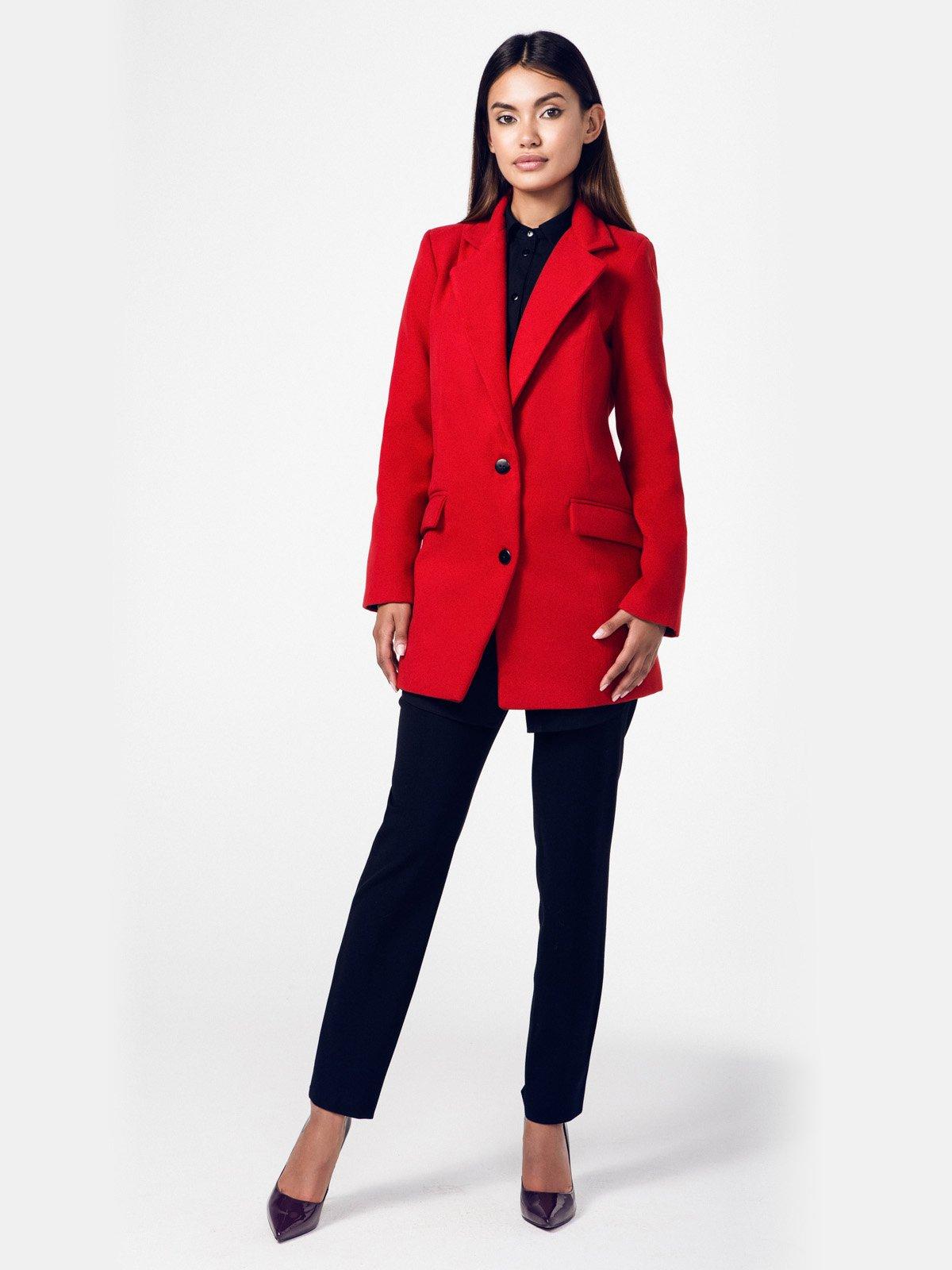 Пальто красное   2686096   фото 2