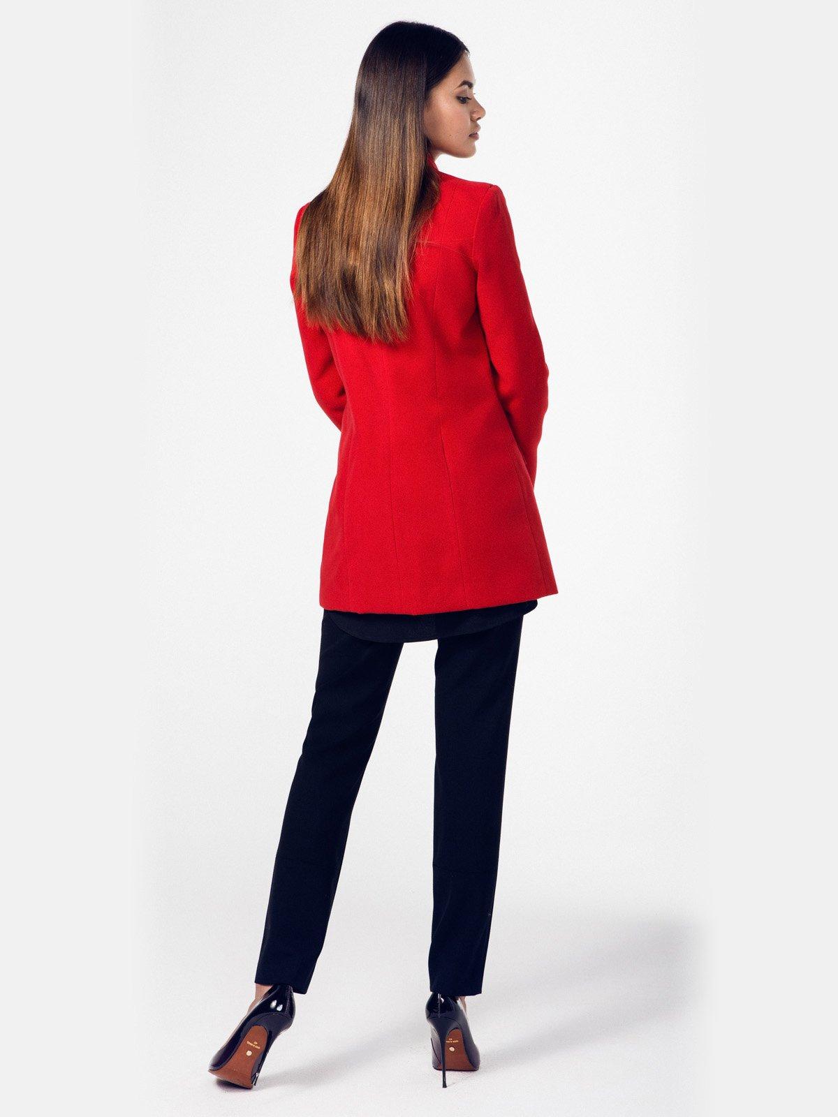Пальто красное   2686096   фото 3