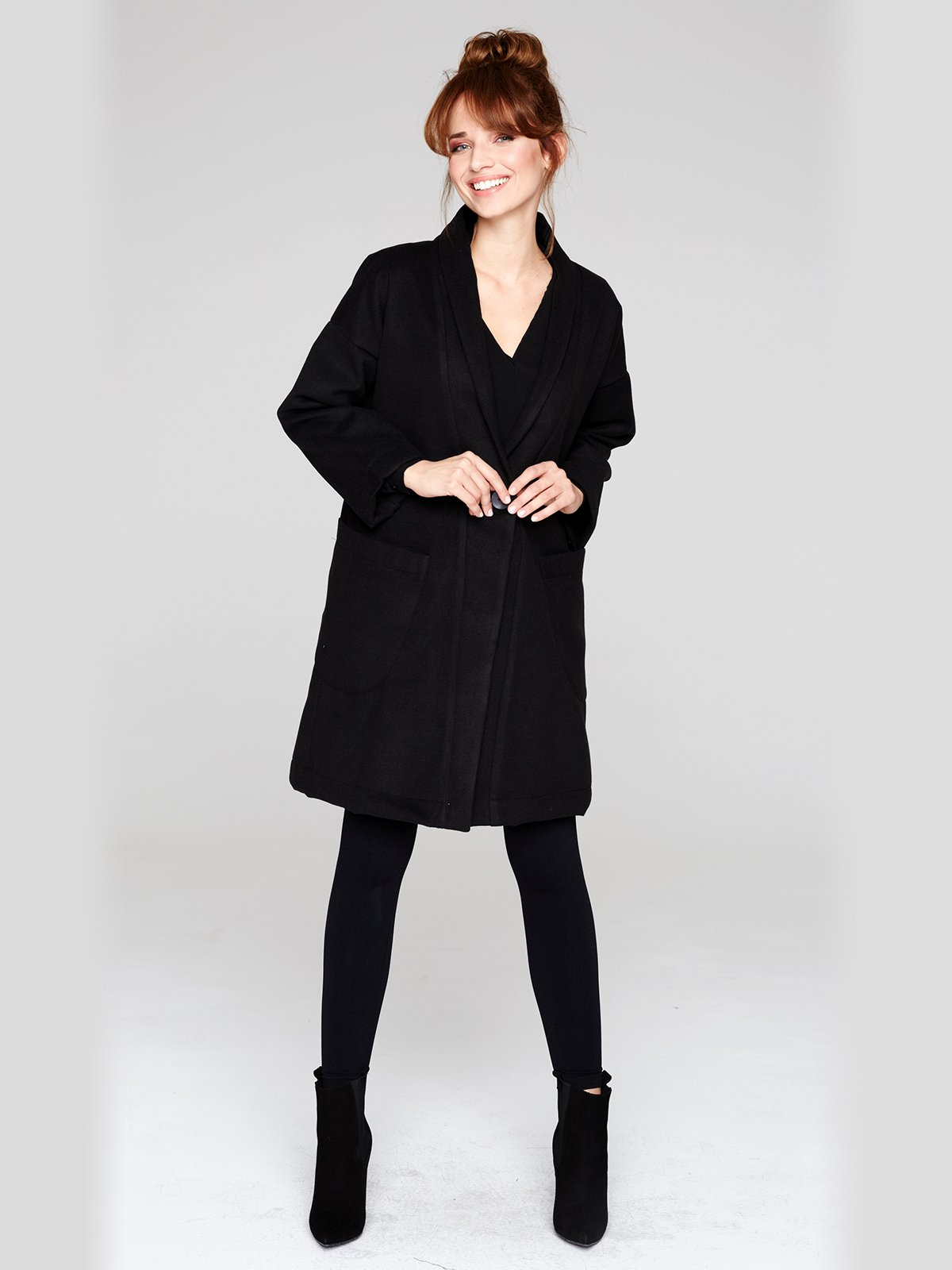 Пальто черное | 2686116