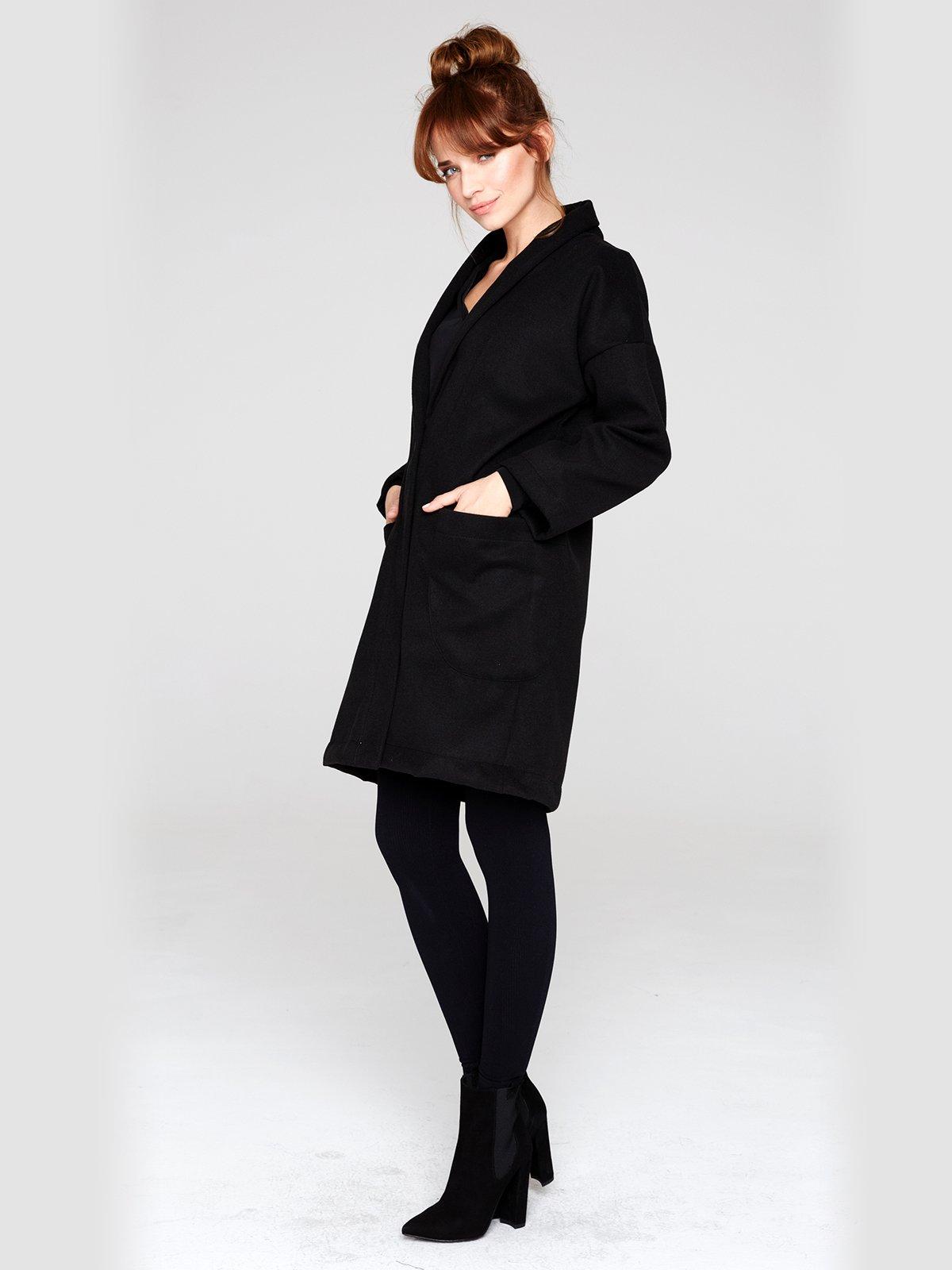 Пальто черное | 2686116 | фото 2