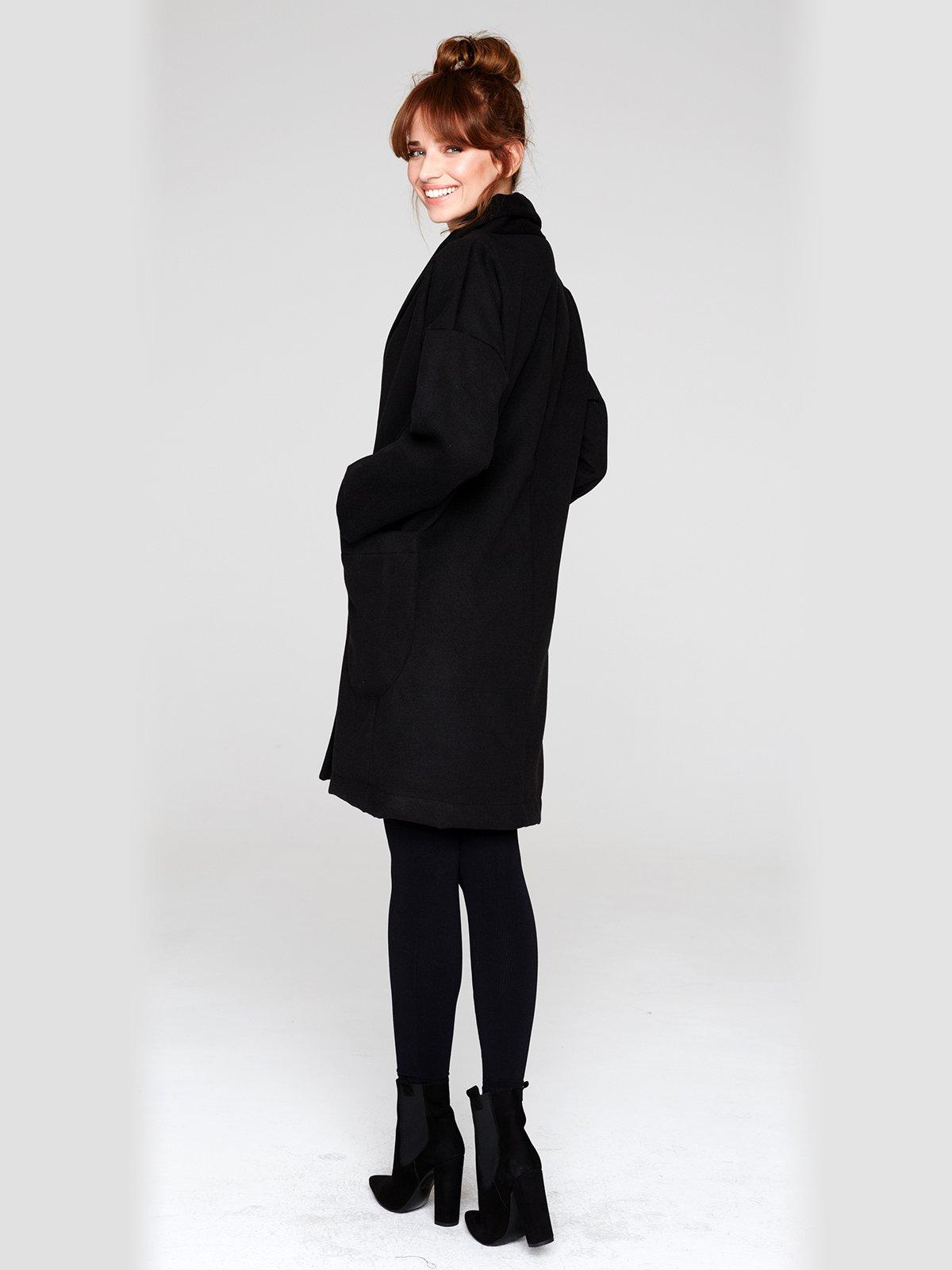 Пальто черное | 2686116 | фото 3