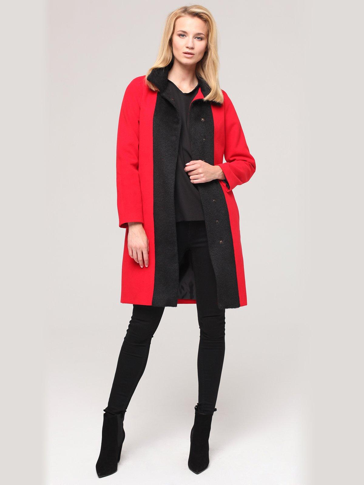 Пальто двоколірне   2686158
