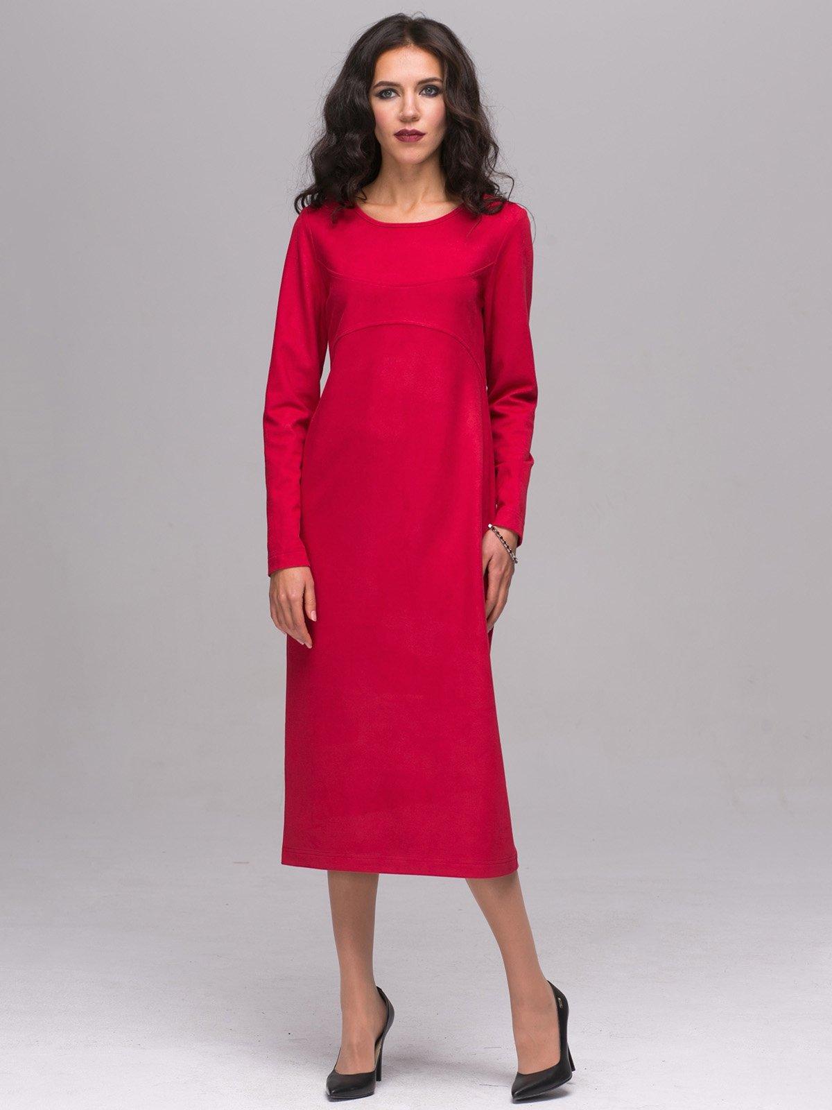 Платье алого цвета   2689655
