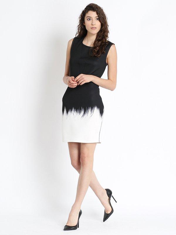 Сукня двоколірна | 2691693