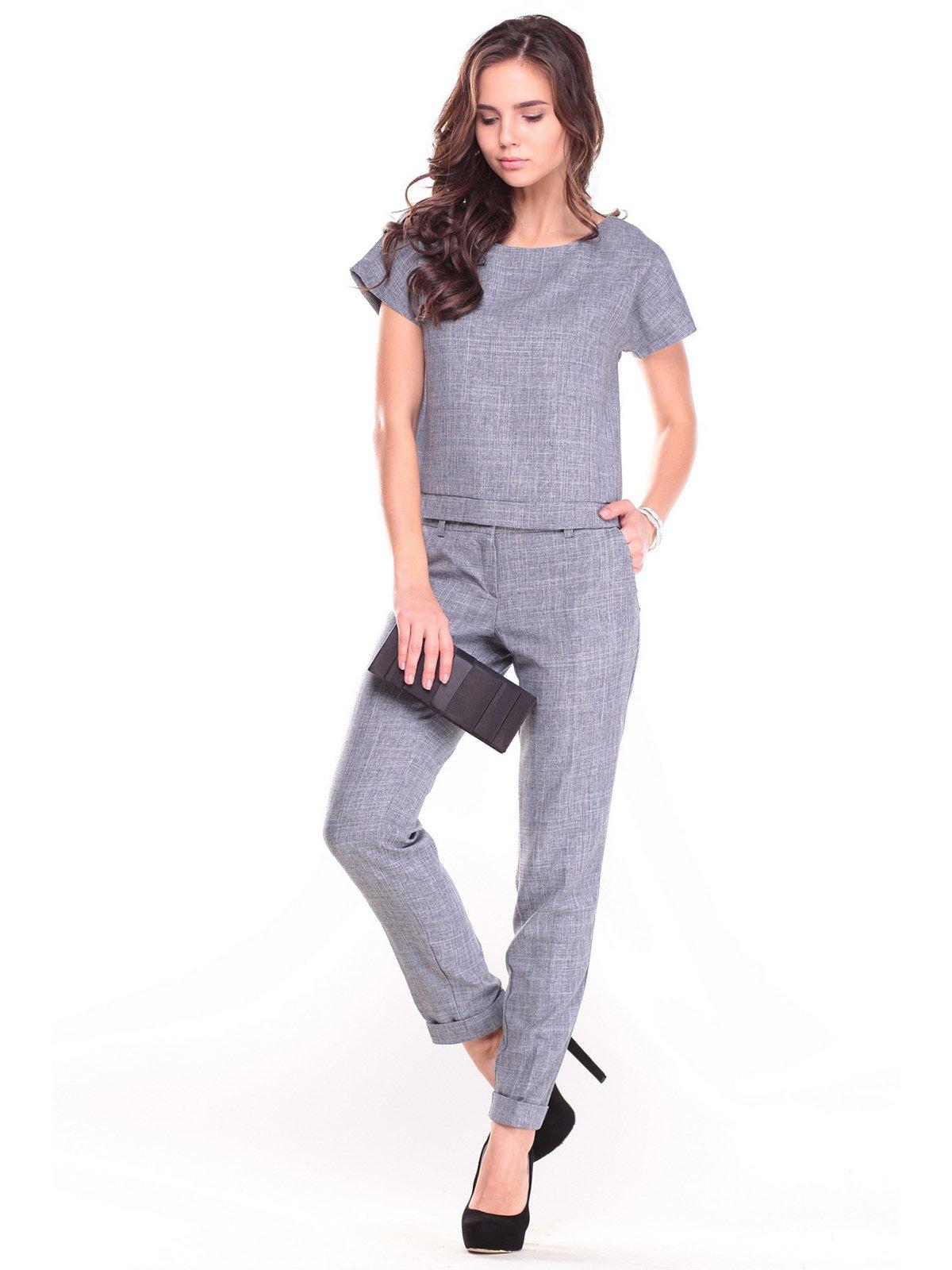 Костюм: блуза і штани | 2701015