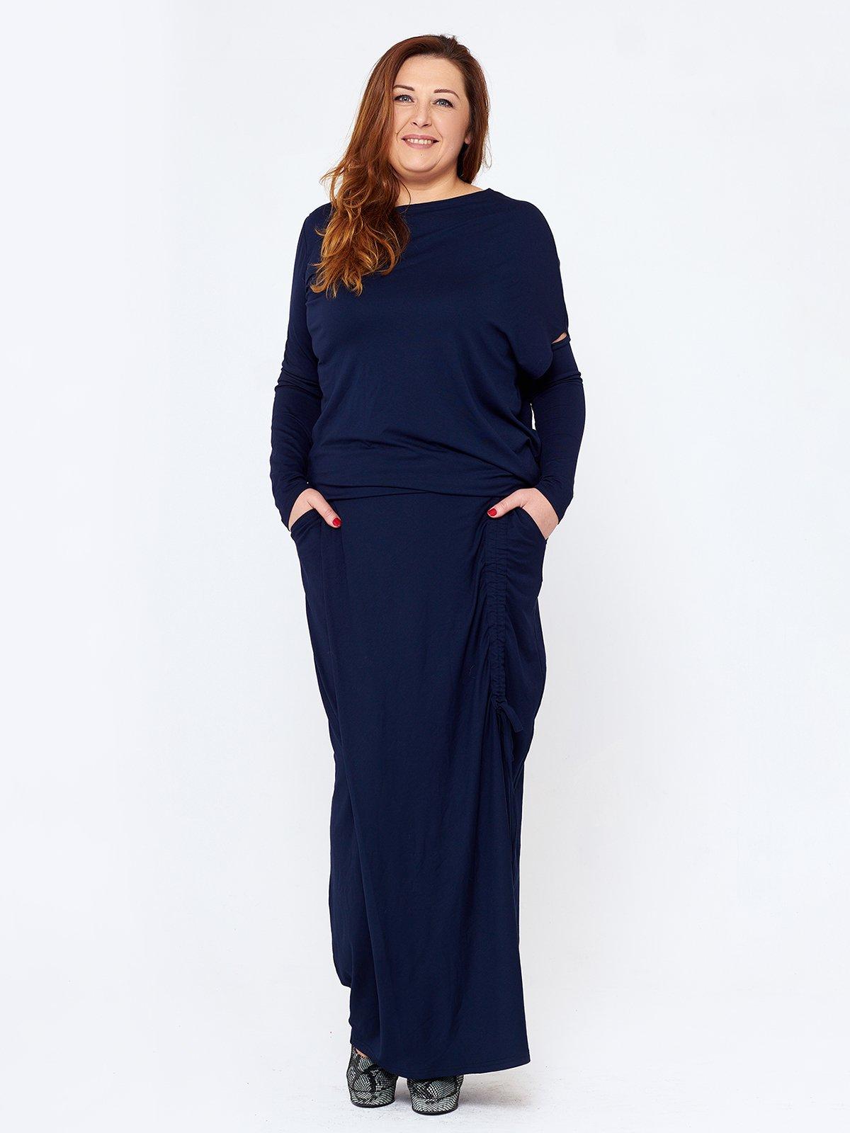 Платье темно-синее   2714661