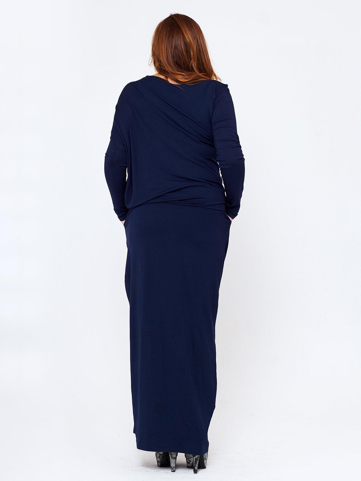 Платье темно-синее   2714661   фото 2