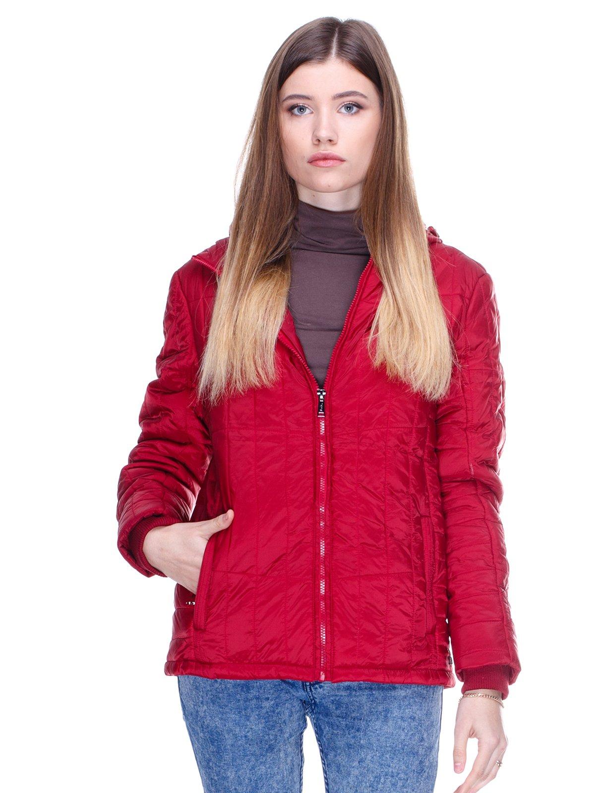 Куртка бордовая | 2705264