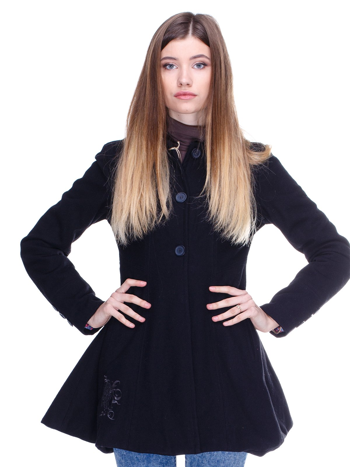 Пальто чорне | 2705257