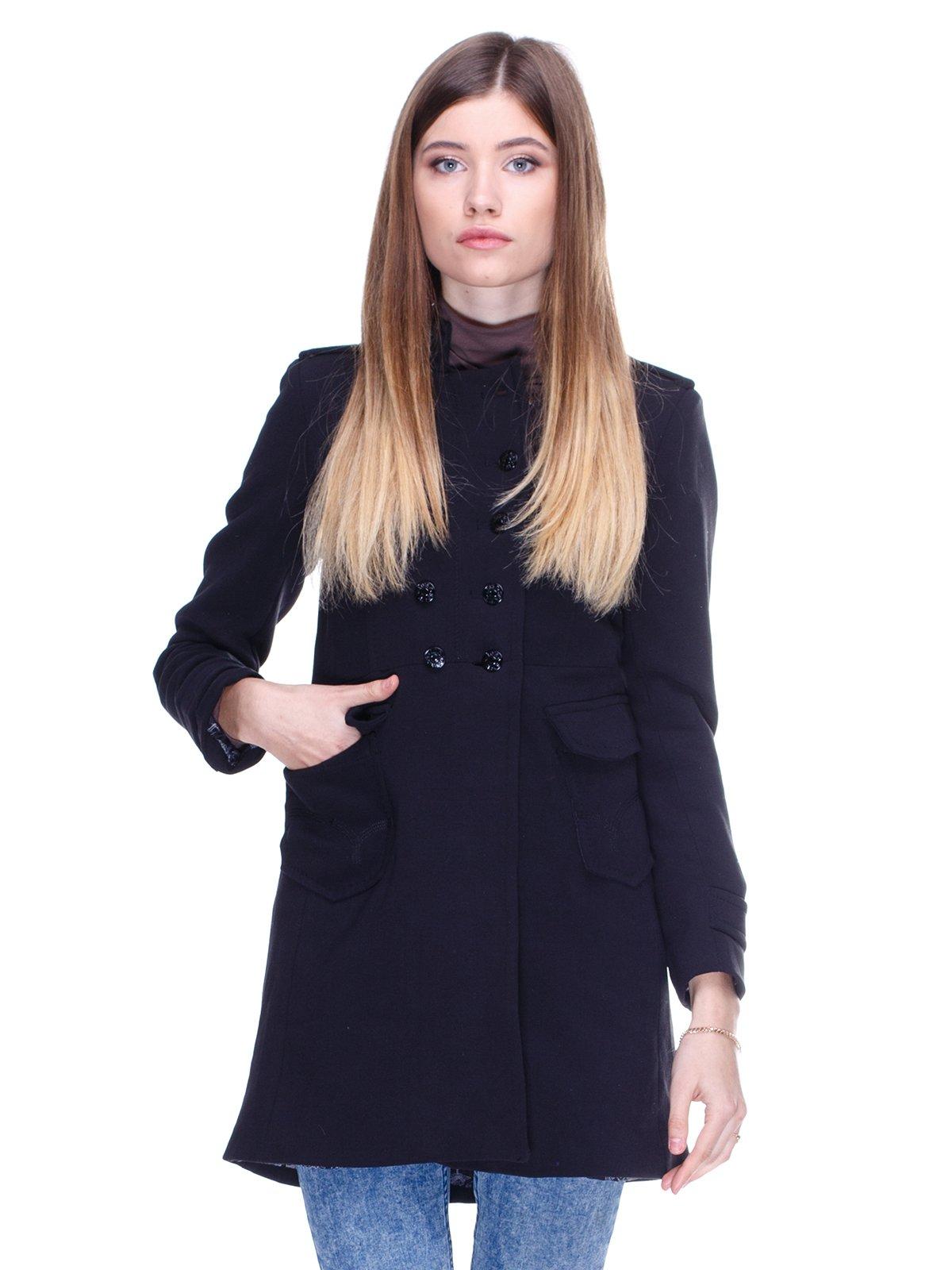 Пальто чорне | 2705262