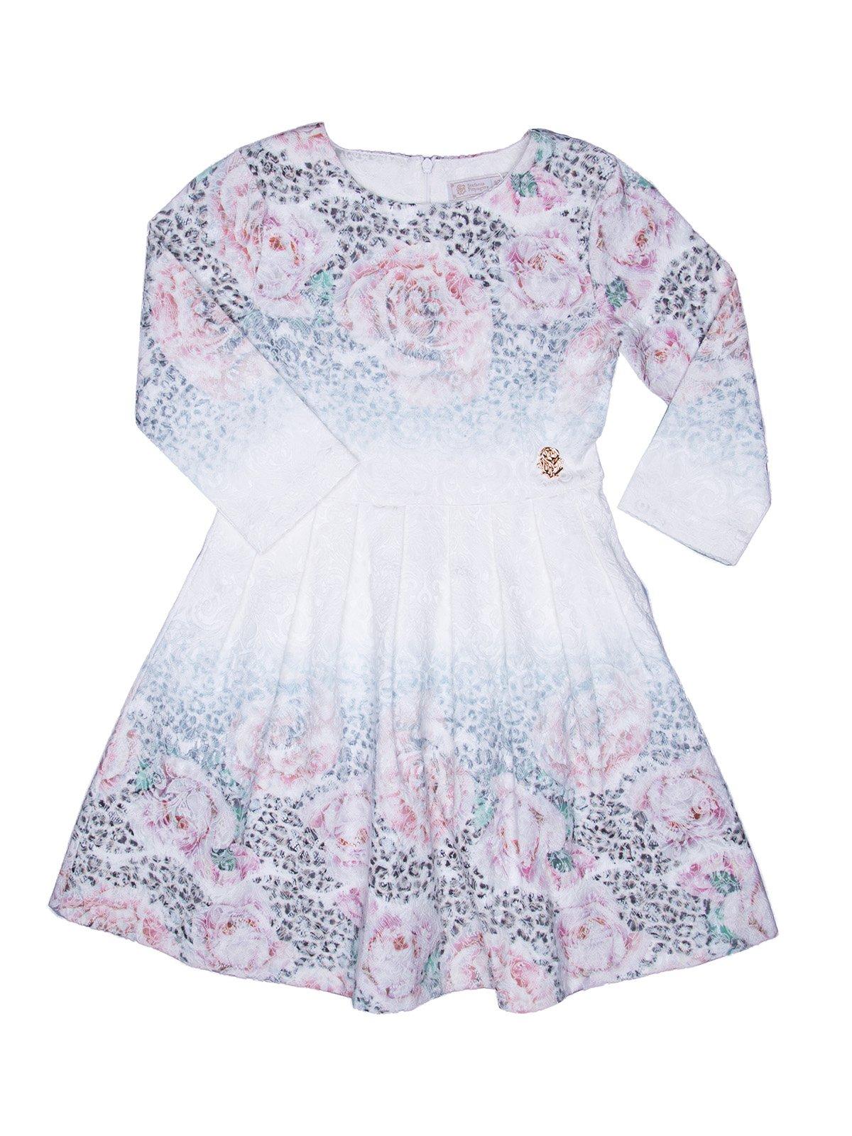 Платье комбинированной расцветки | 2733016