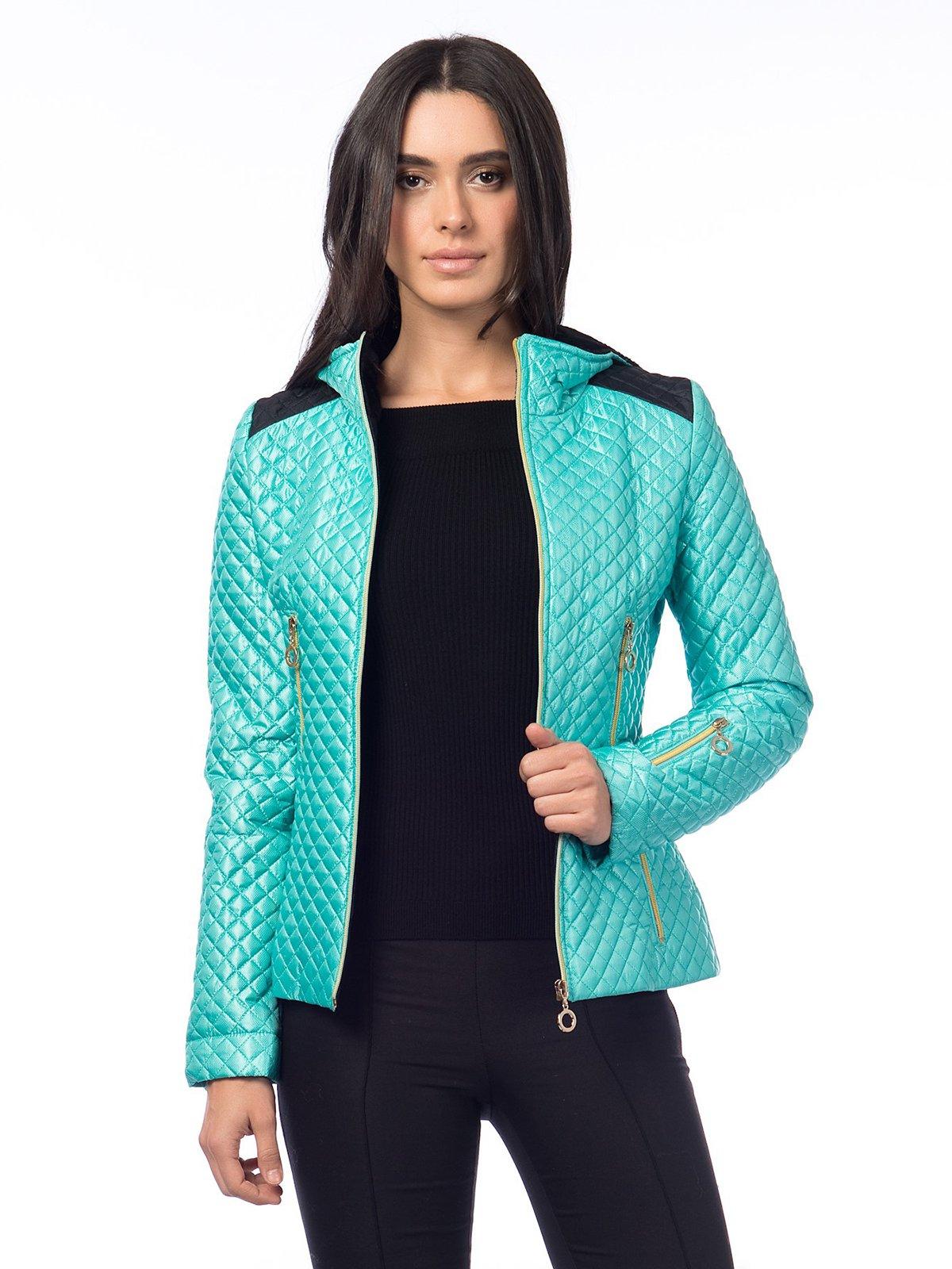 Куртка бирюзовая | 2725833