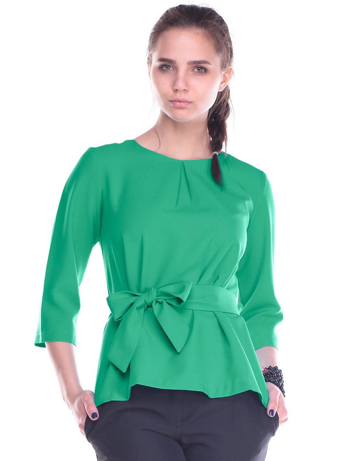 Блуза зелена | 2740219