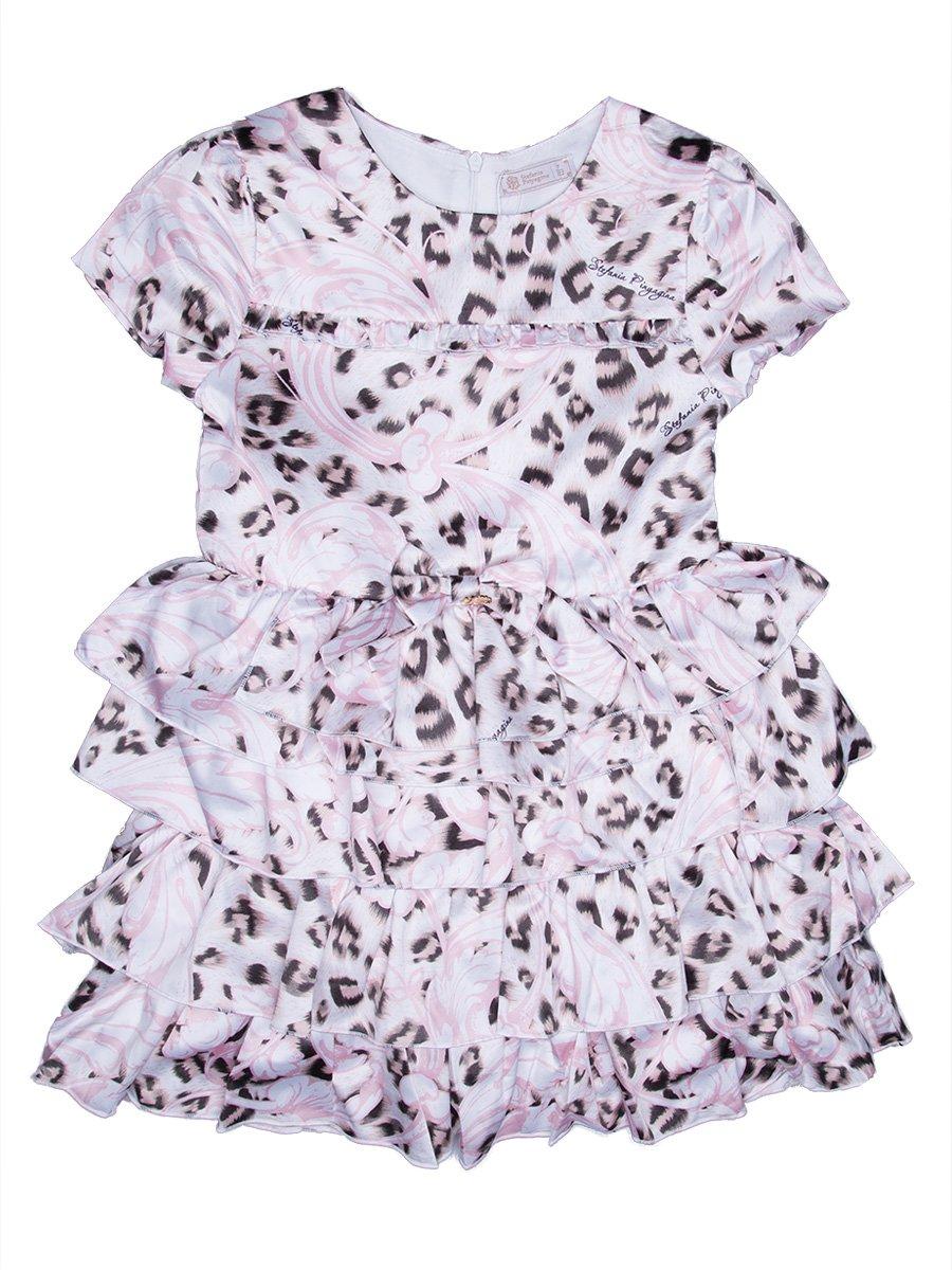 Платье анималистичной расцветки | 2733007