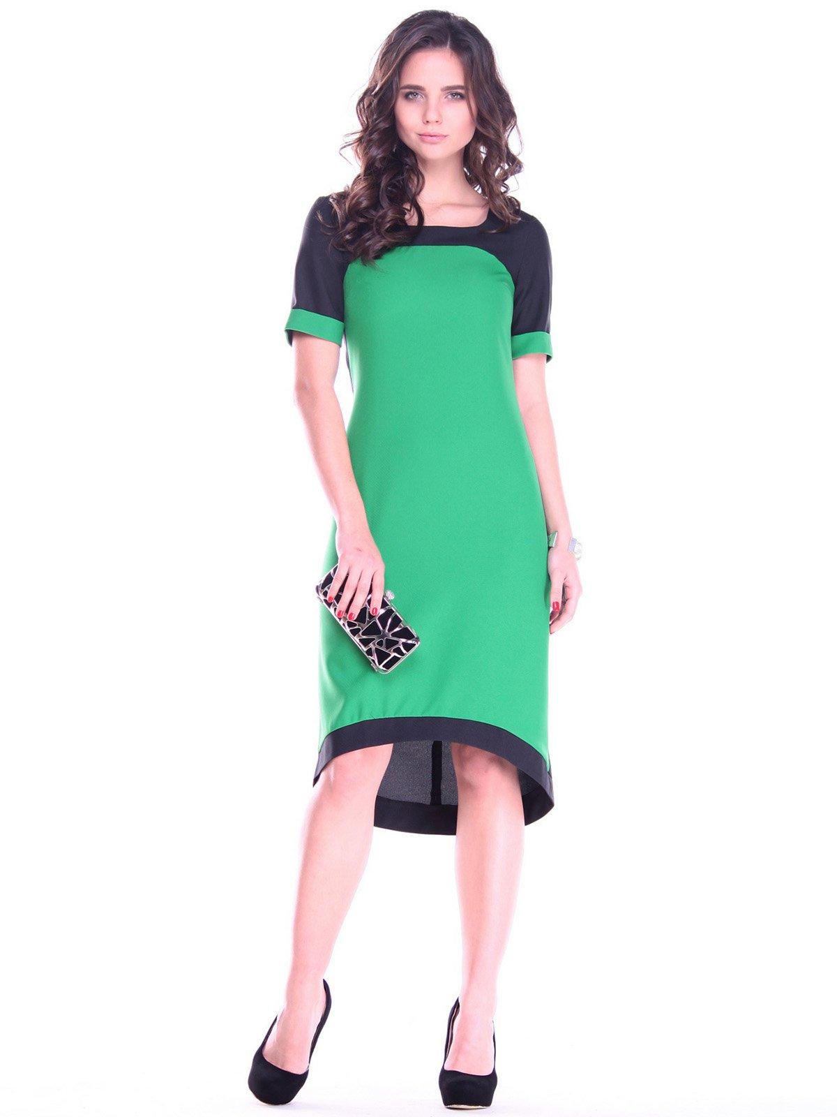 Платье зелено-черного цвета | 2757798