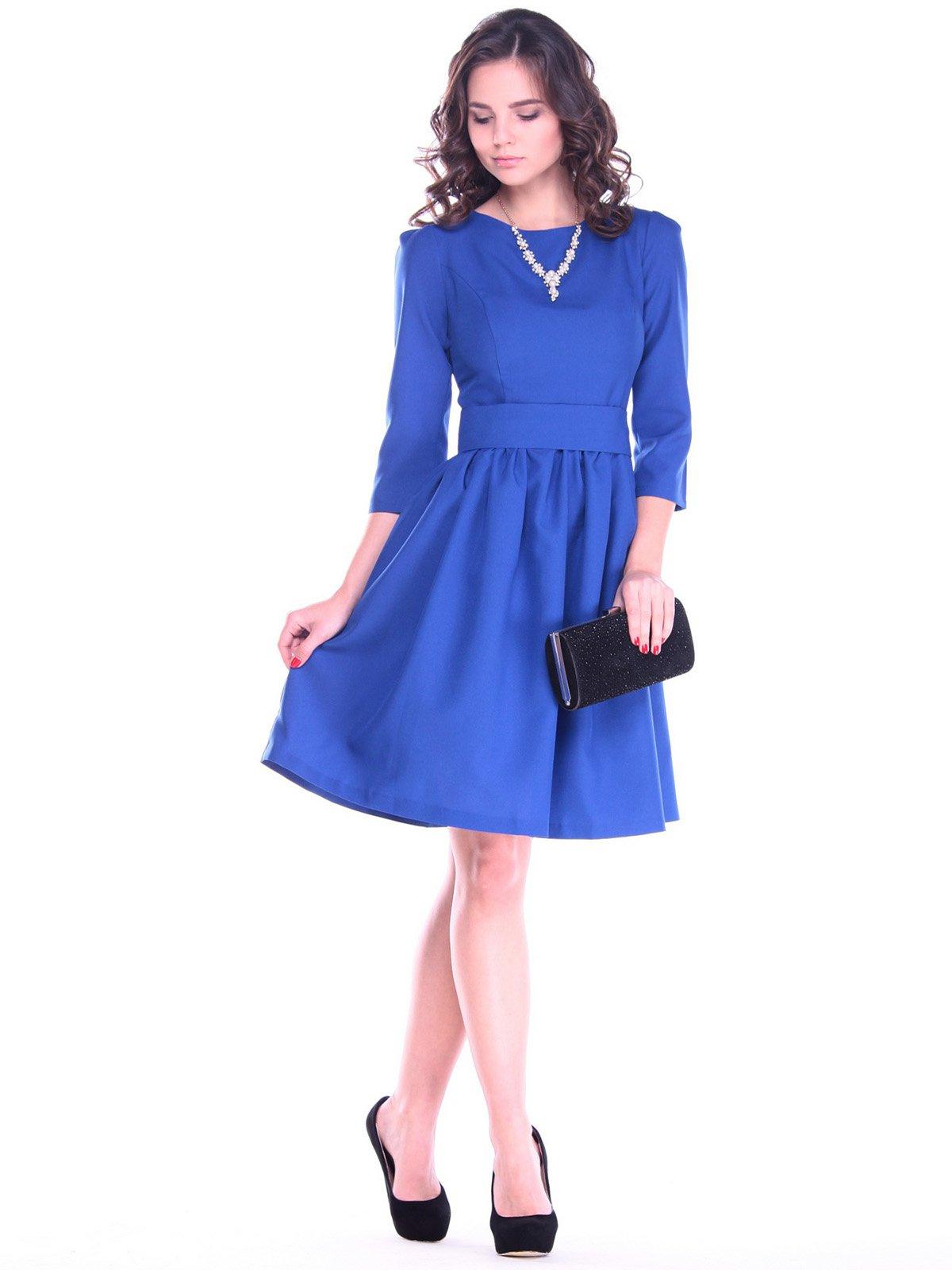 Платье цвета электрик | 2757812