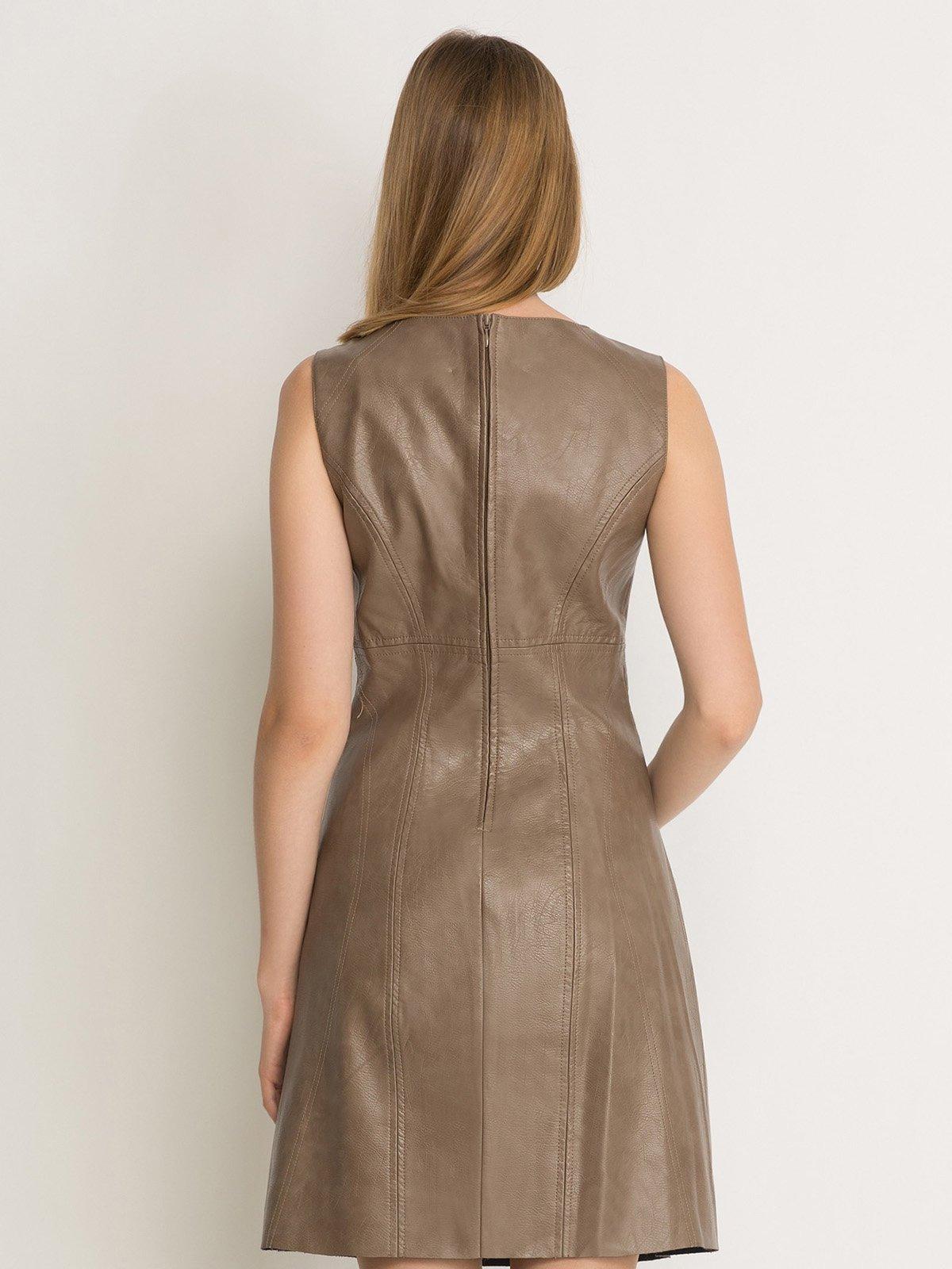 Платье коричневое | 2757752 | фото 2