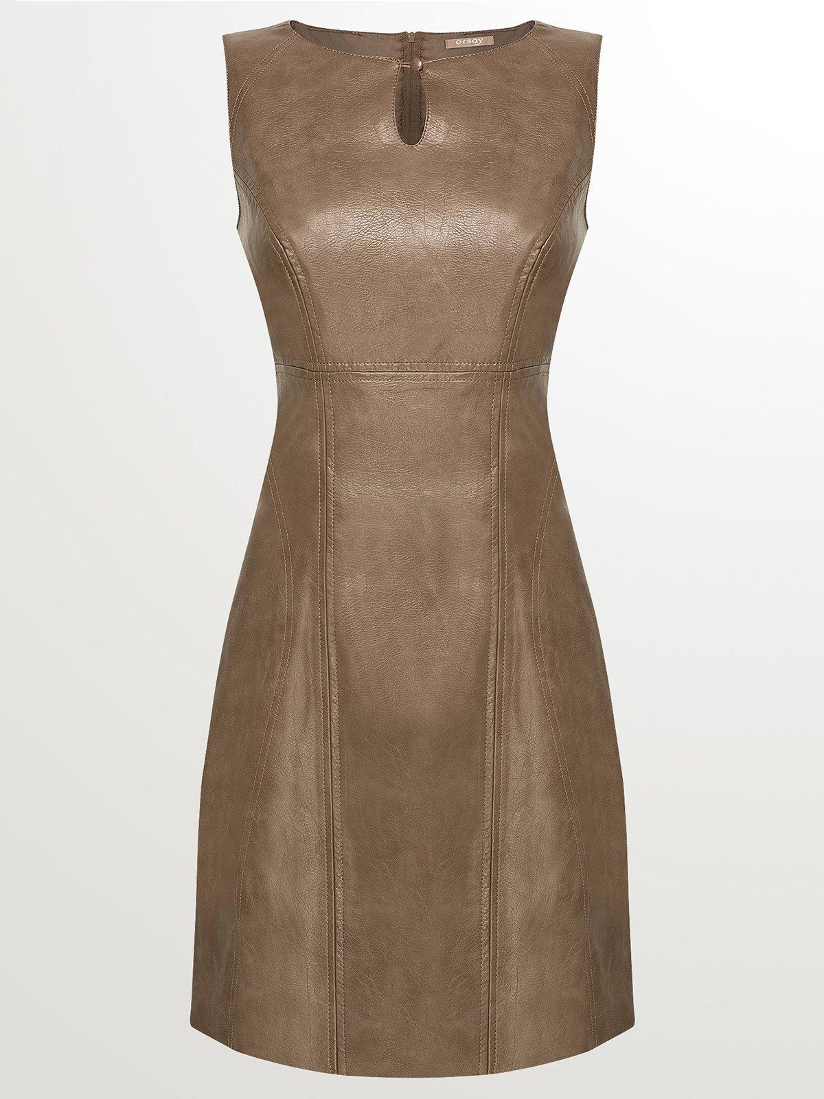 Платье коричневое | 2757752 | фото 3
