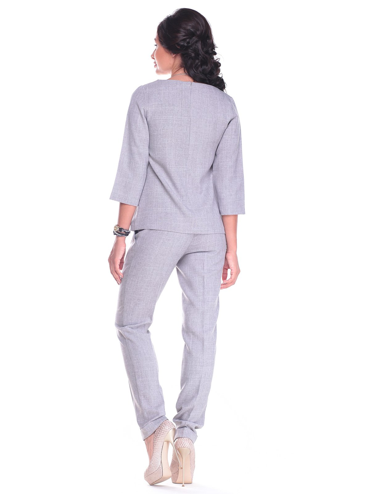 Костюм: блуза и брюки   2416238   фото 2