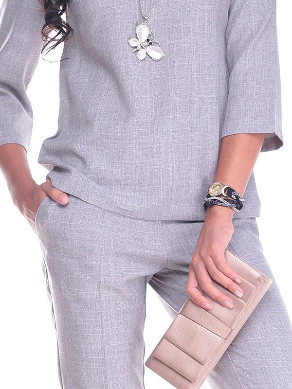 Костюм: блуза и брюки   2416238   фото 3