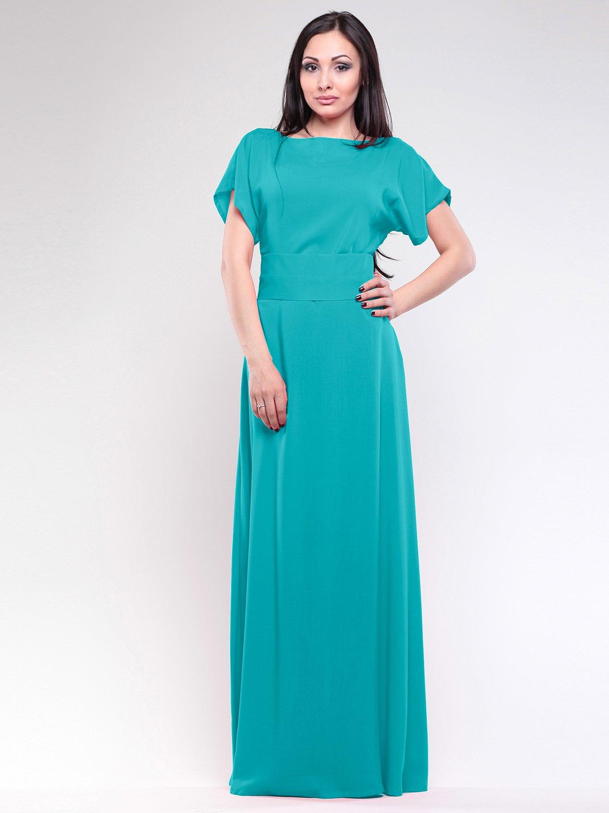Платье бирюзового цвета | 2658092