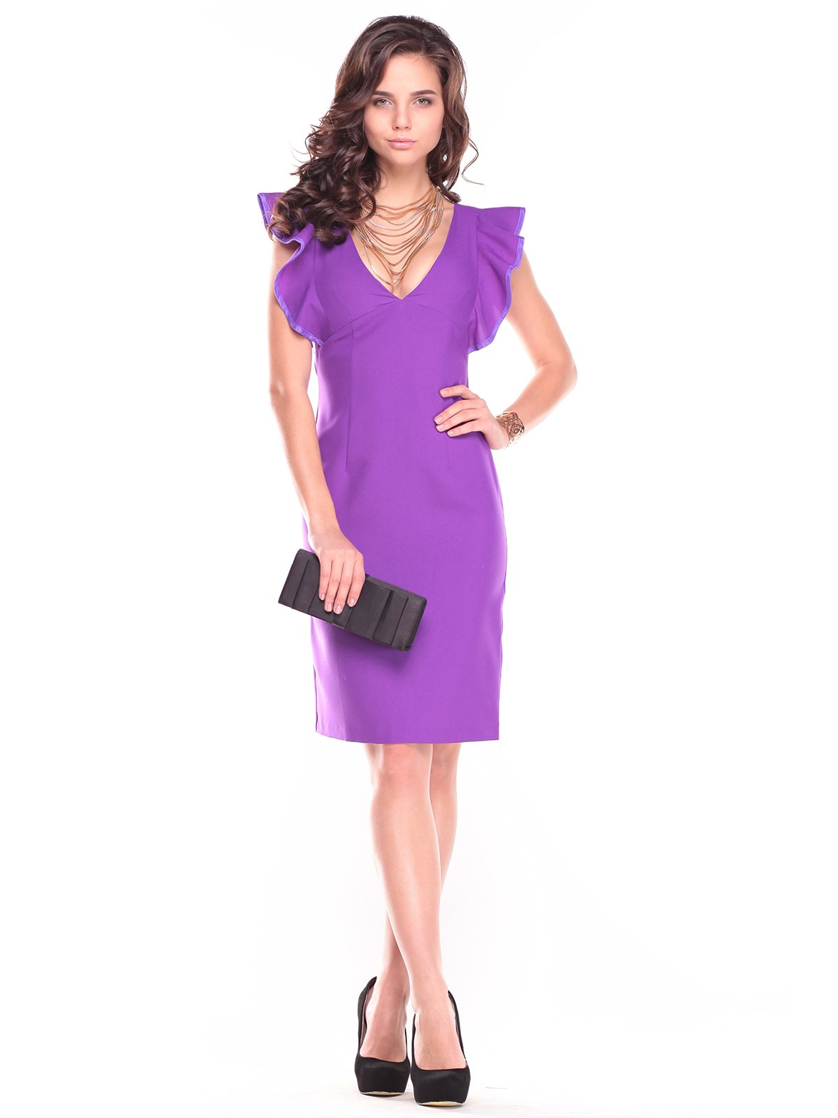 Сукня фіалкового кольору | 2729716