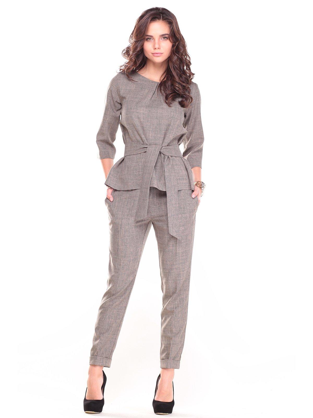 Костюм: блуза и брюки   2741482   фото 4