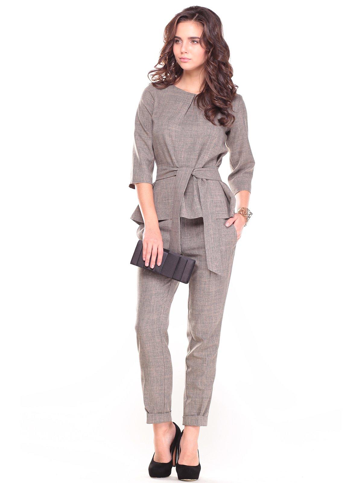 Костюм: блуза и брюки   2741482