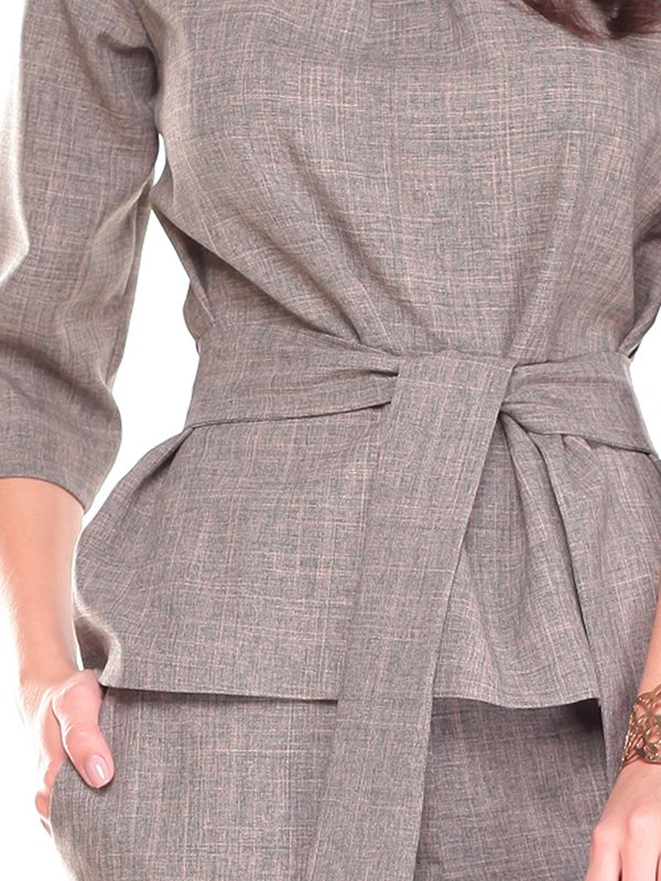 Костюм: блуза и брюки   2741482   фото 3