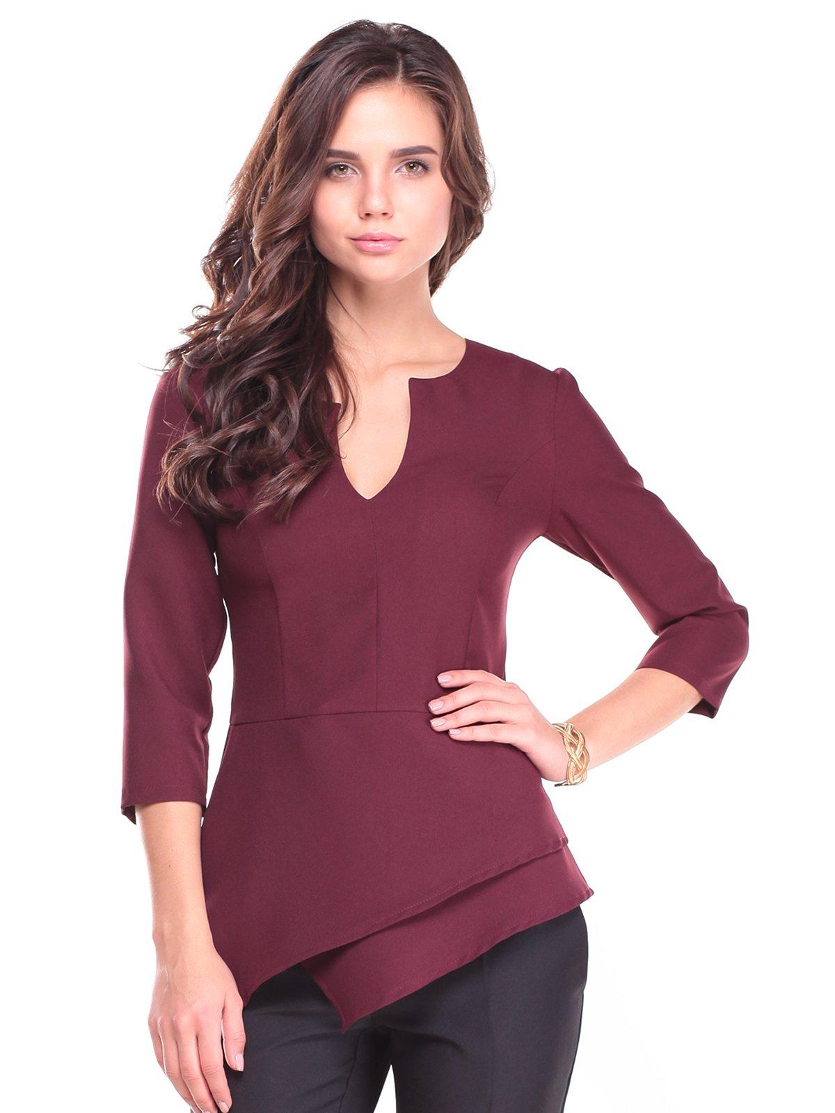 Блуза сливового кольору | 2741499