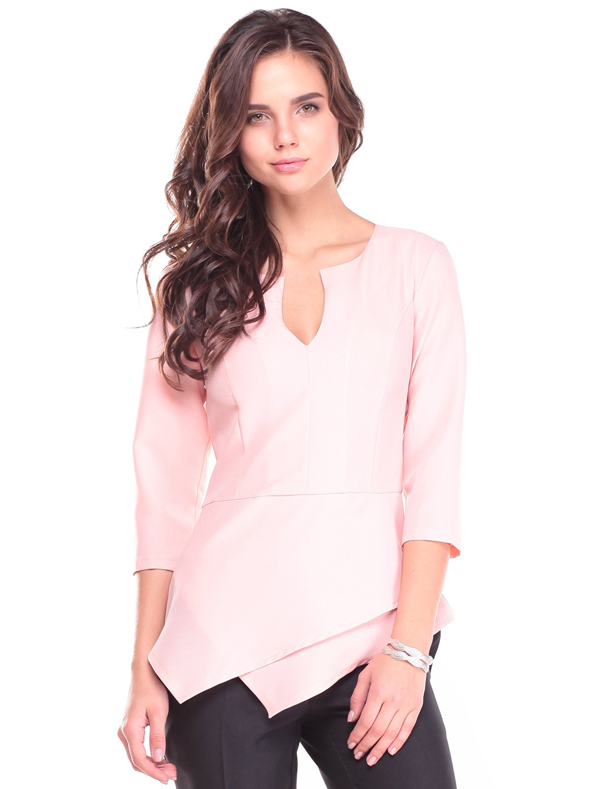 Блуза персикового кольору   2741503