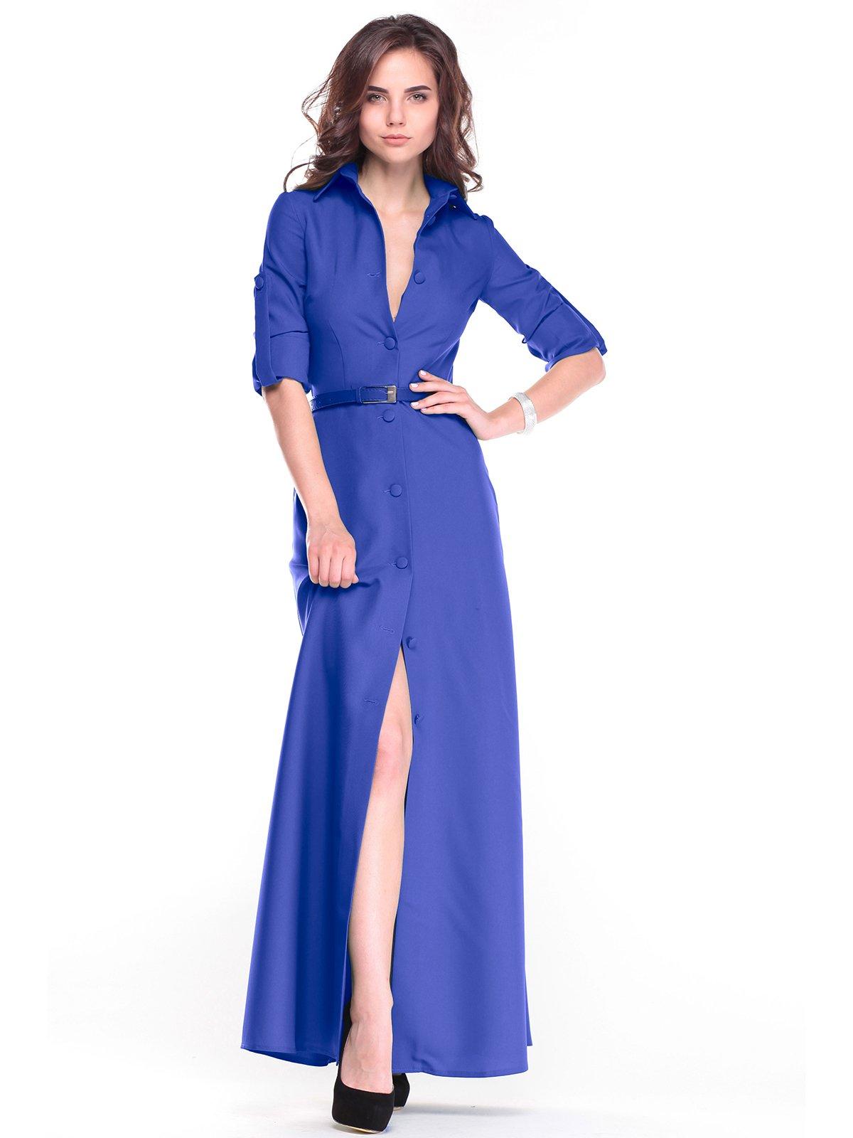 Сукня кольору електрик | 2654726