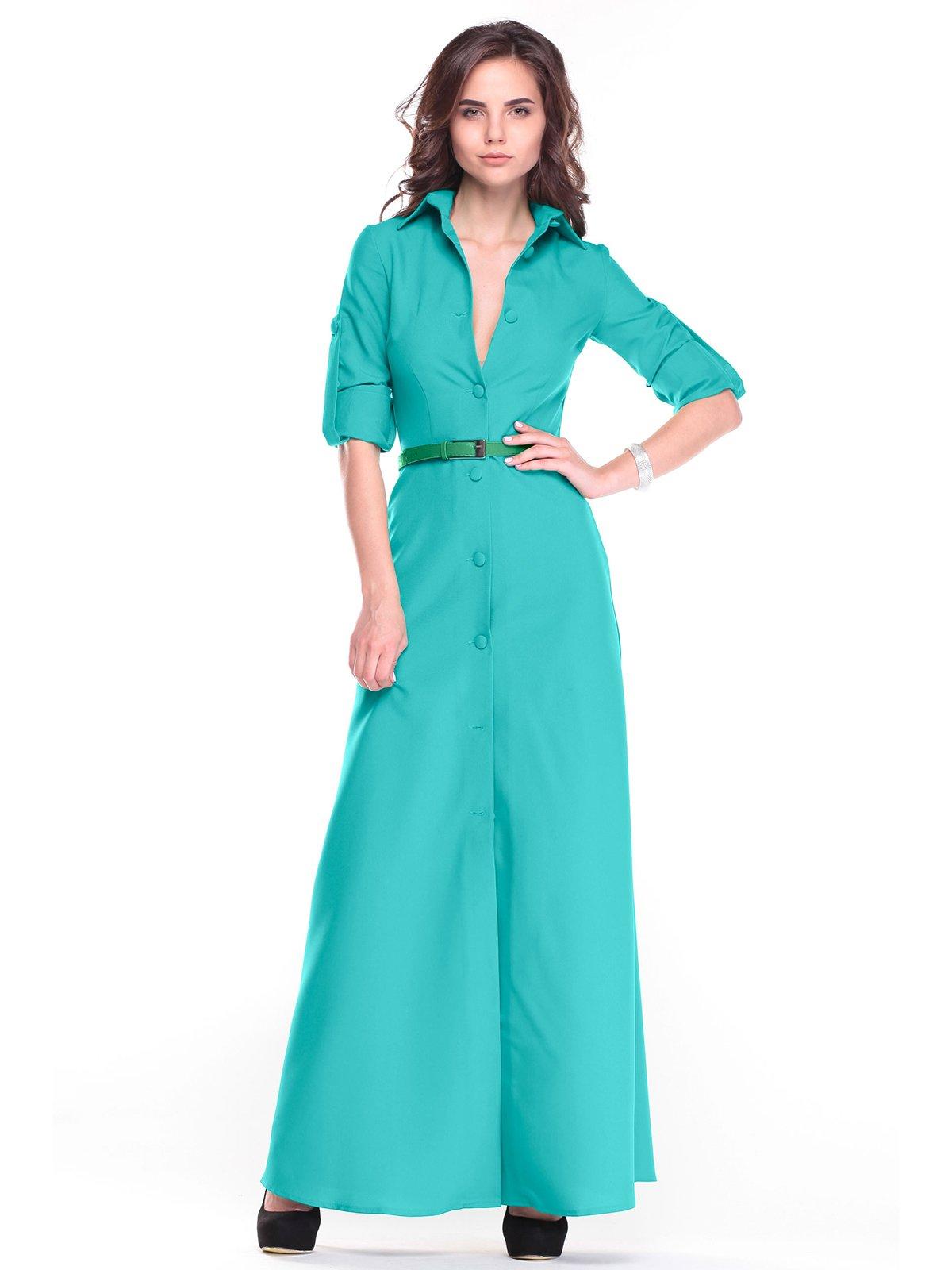 Сукня темно-ментолового кольору   2654728
