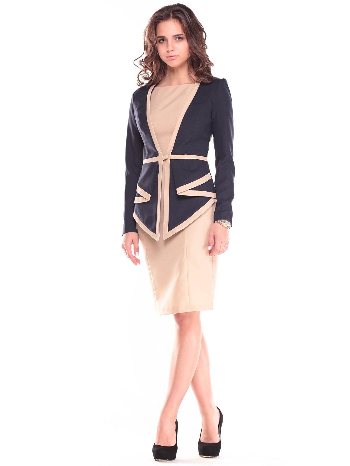 Комплект: платье и жакет | 2658096