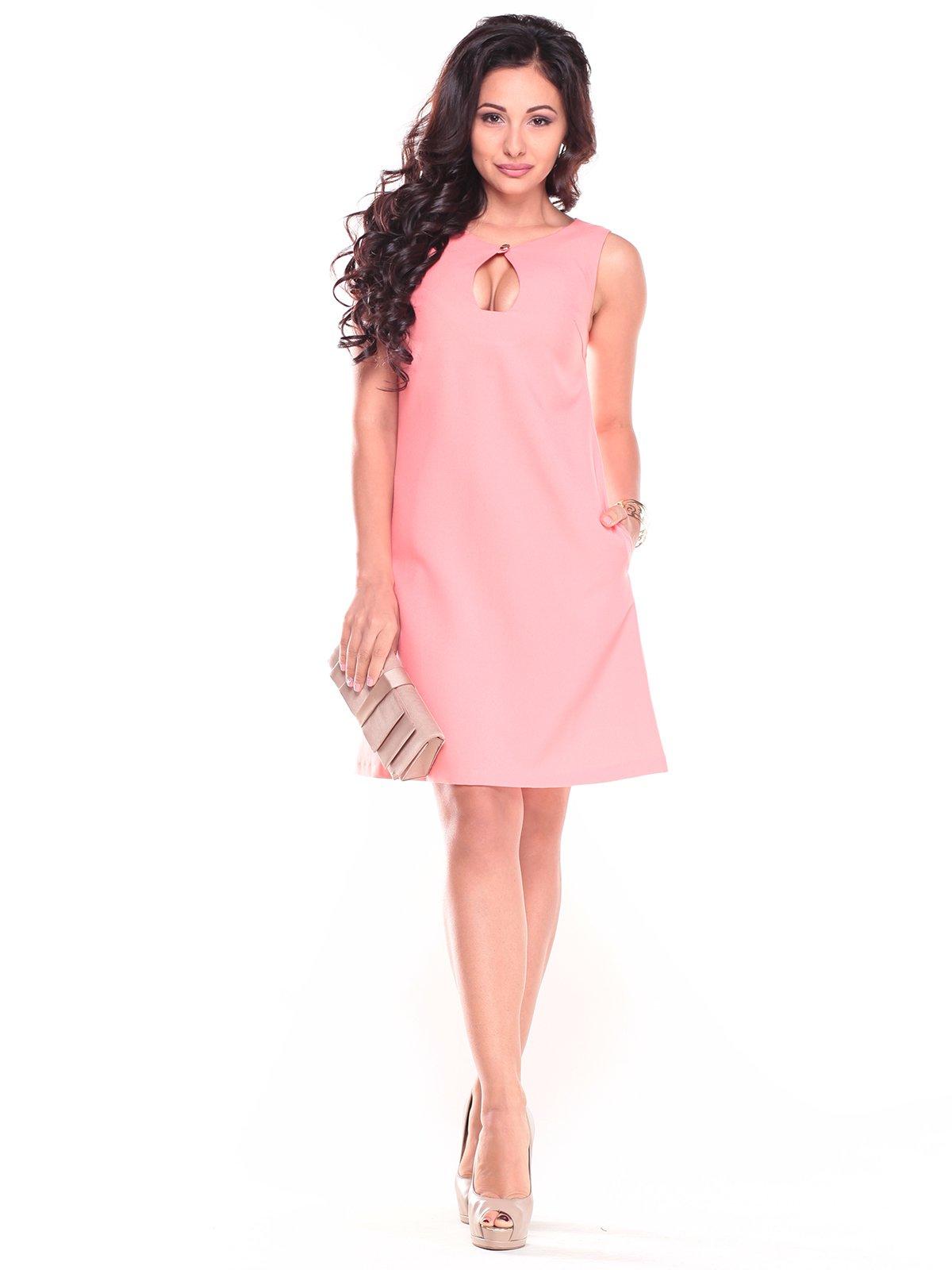 Платье темно-персиковое | 2724067