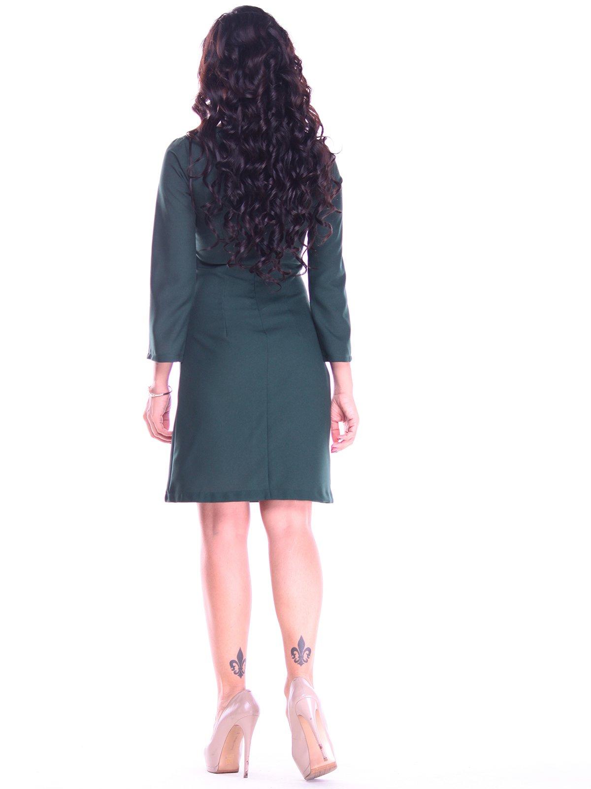 Платье темно-изумрудного цвета | 2763199 | фото 2