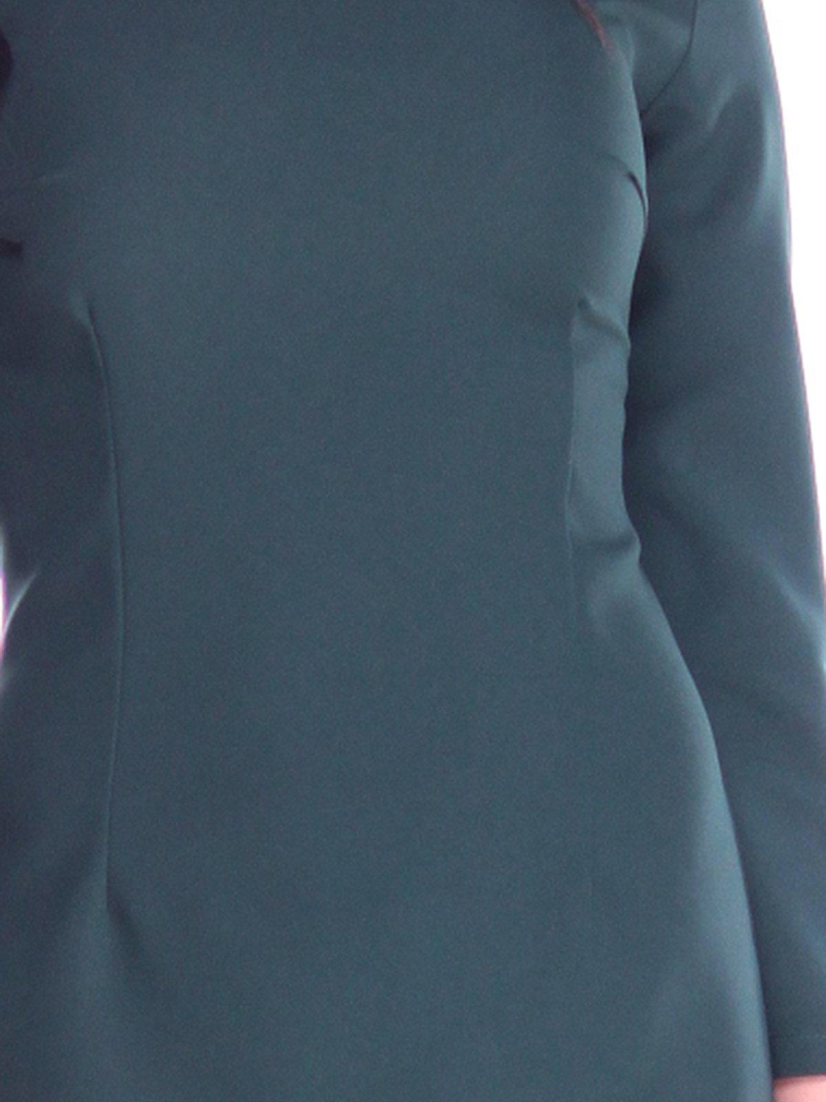 Платье темно-изумрудного цвета | 2763199 | фото 3