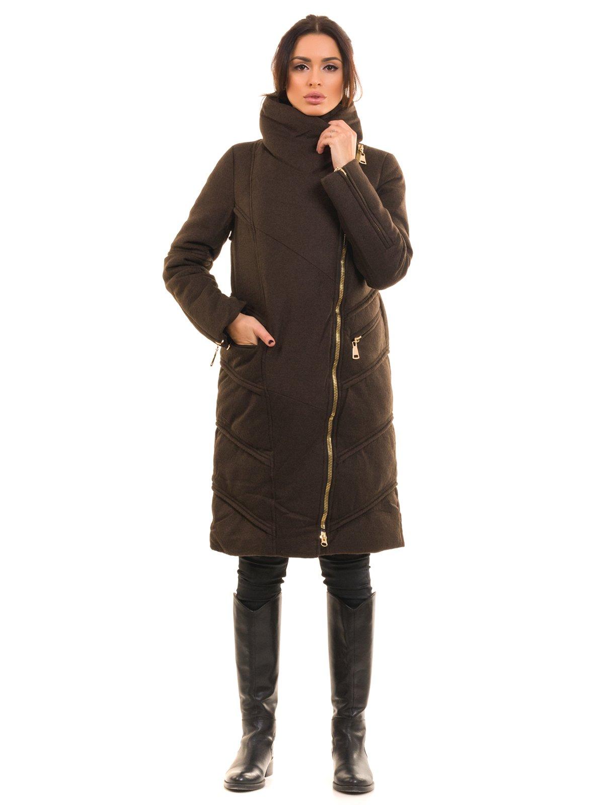 Пальто коричневое | 2769495 | фото 2