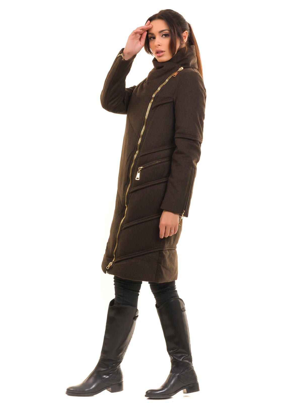 Пальто коричневое | 2769495 | фото 3
