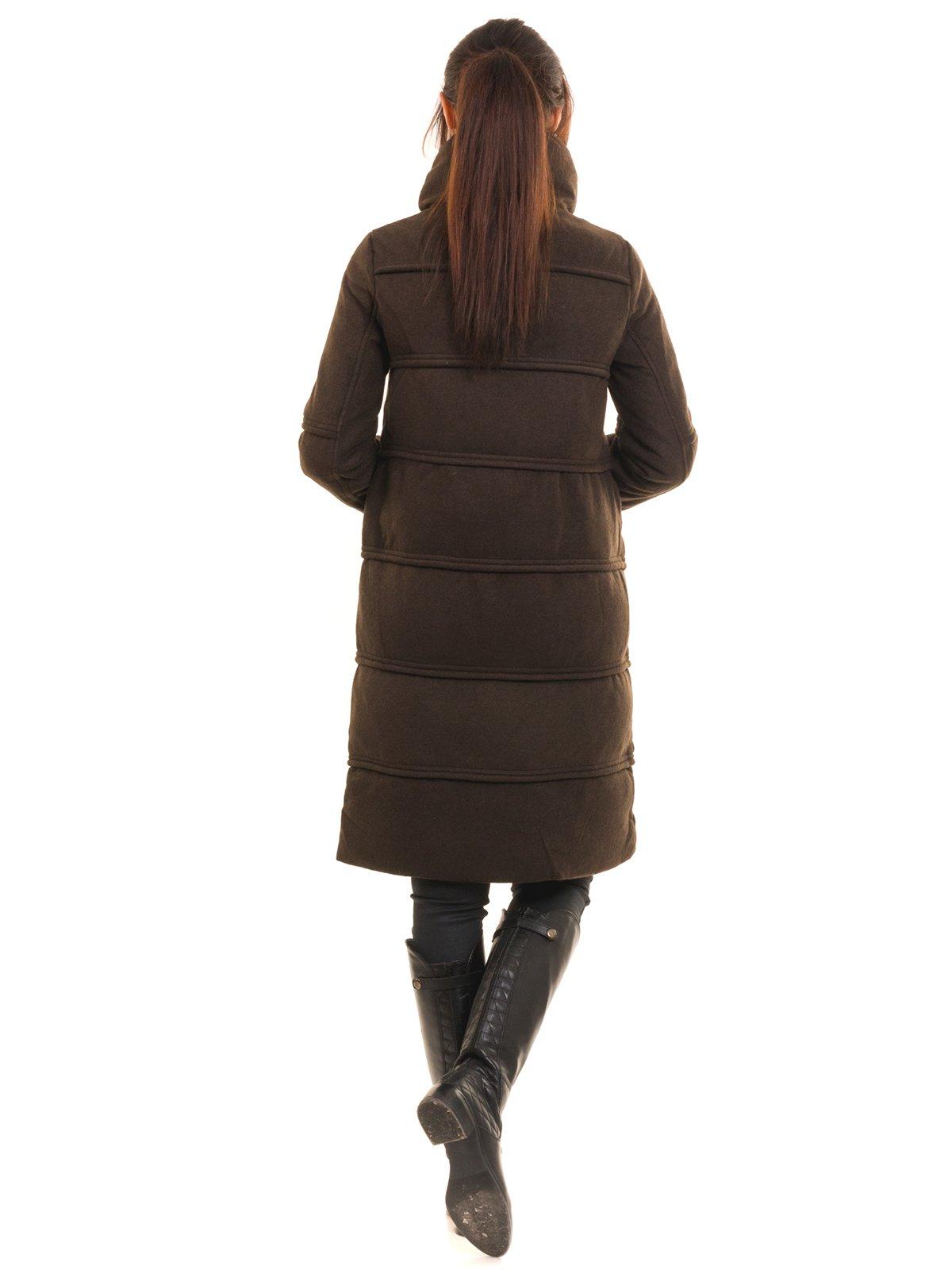 Пальто коричневое | 2769495 | фото 4