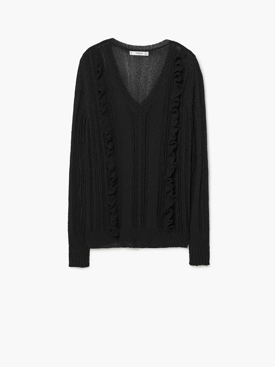 Пуловер чорний | 2646769