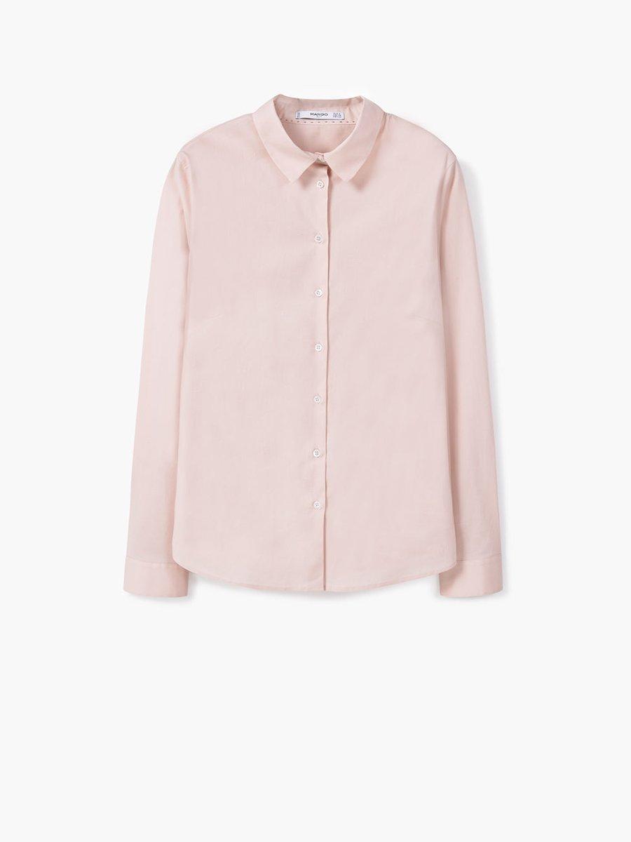 Блуза светло-розовая | 2687426