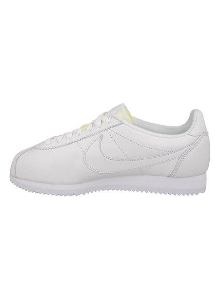 Кроссовки белые Classic Cortez PRM | 2778959