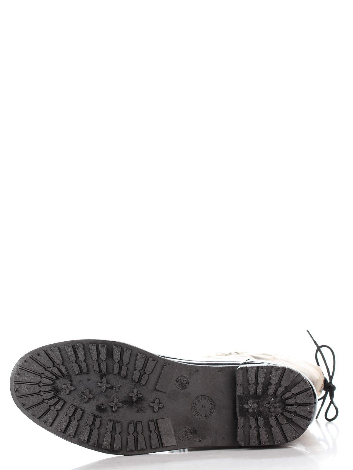 Сапоги черные с принтом | 2778870 | фото 4