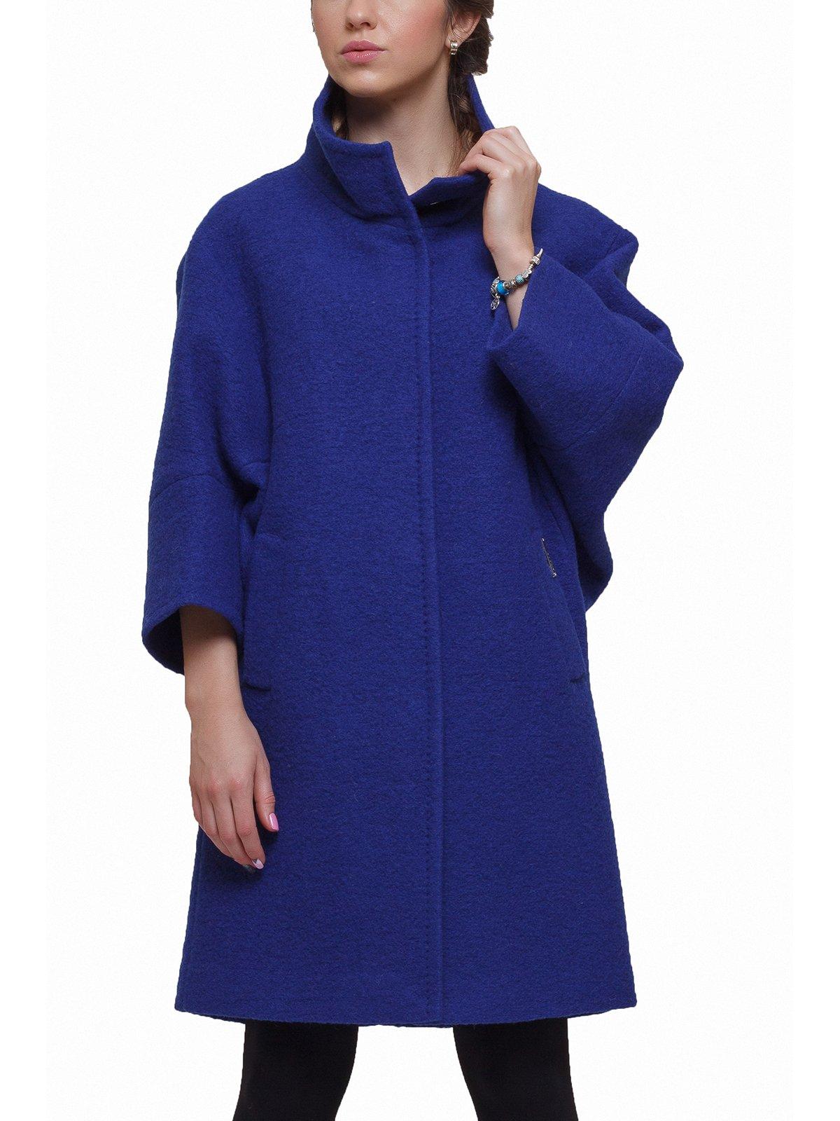 Пальто синее | 2689634 | фото 2