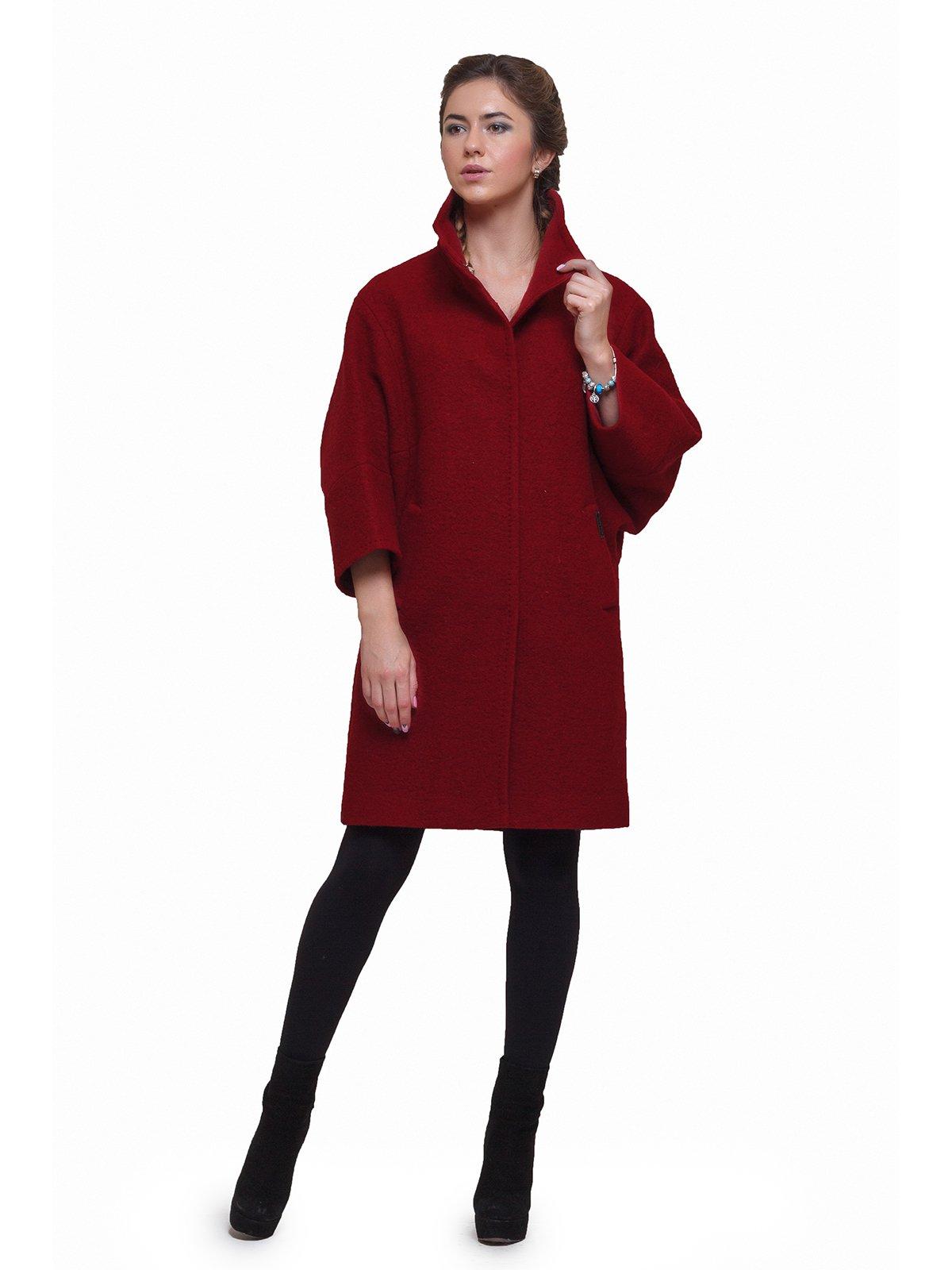Пальто красное | 2783188 | фото 2